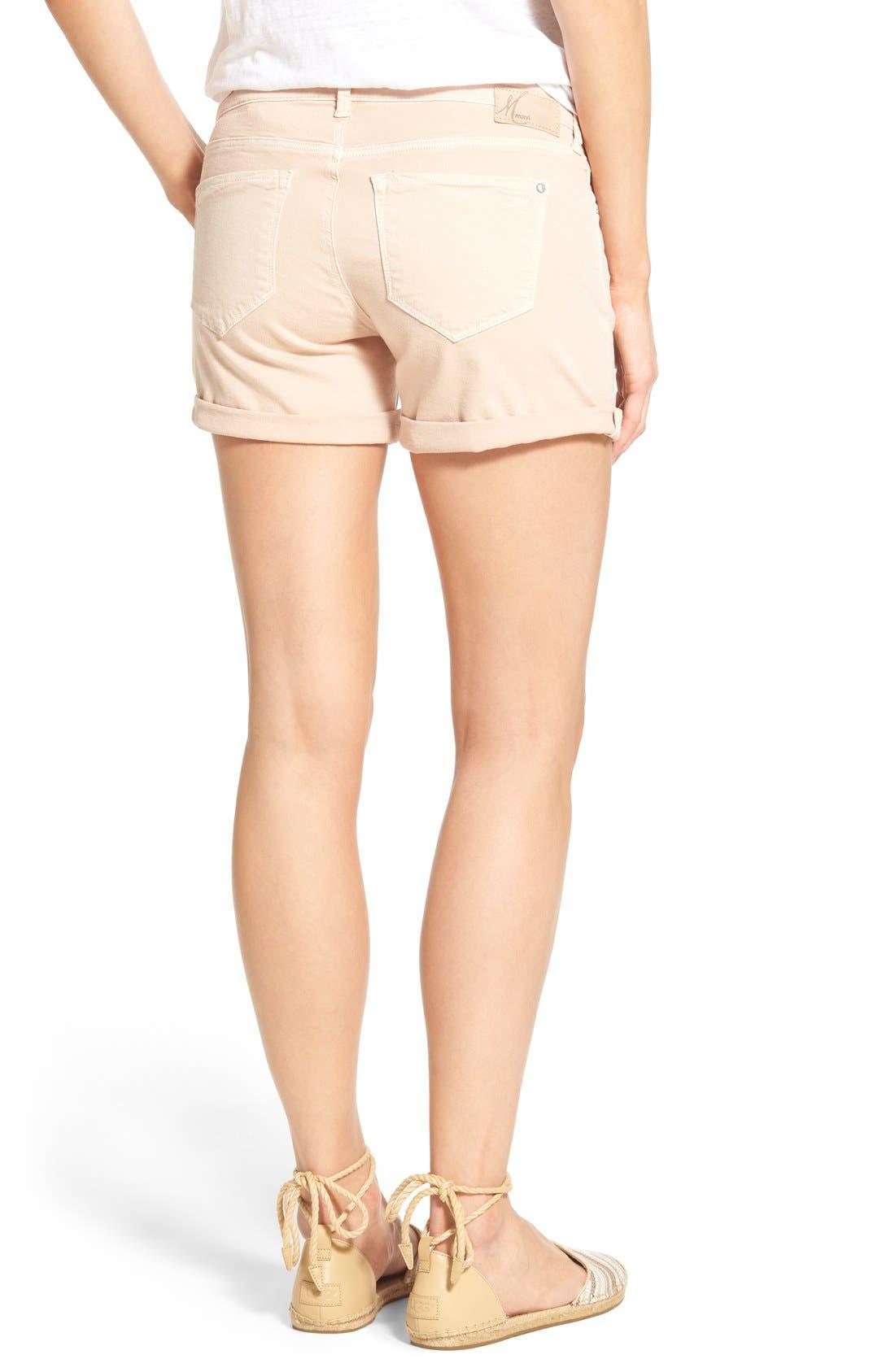 Alternate Image 2  - Mavi Jeans 'Vanna' Stretch Twill Five-Pocket Shorts