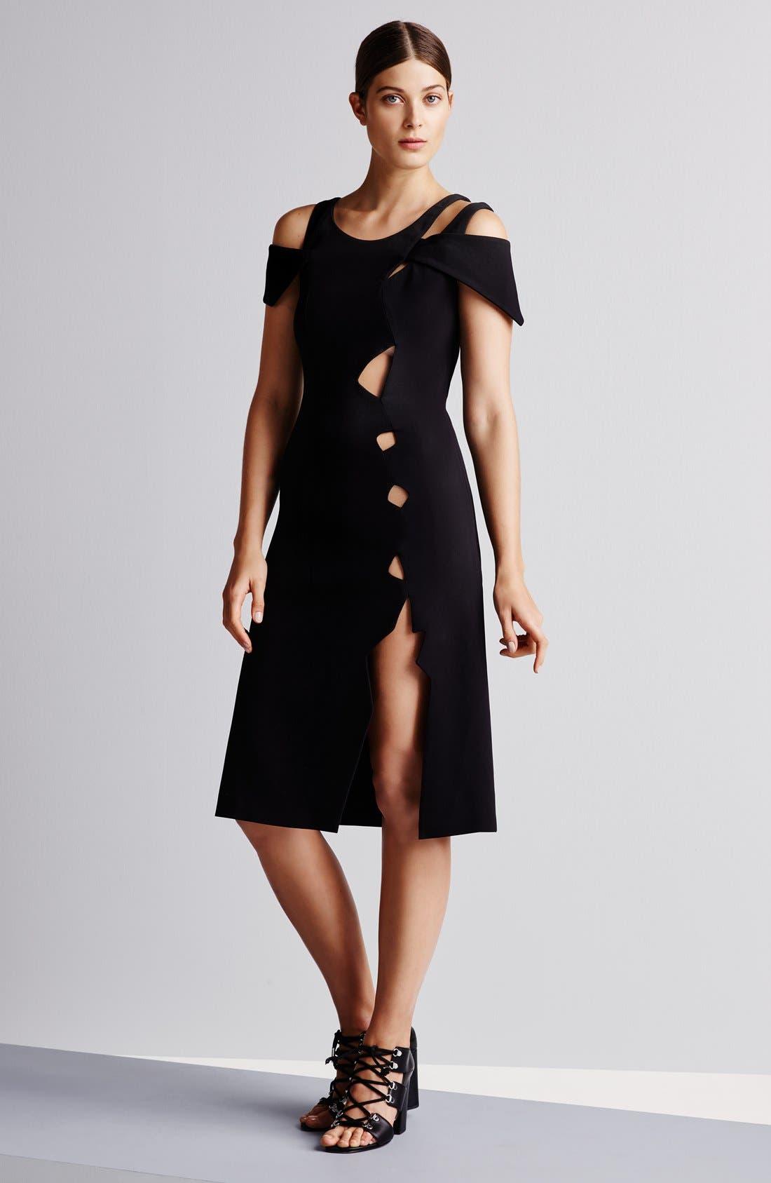 Alternate Image 7  - Christopher Kane Cold Shoulder Dress