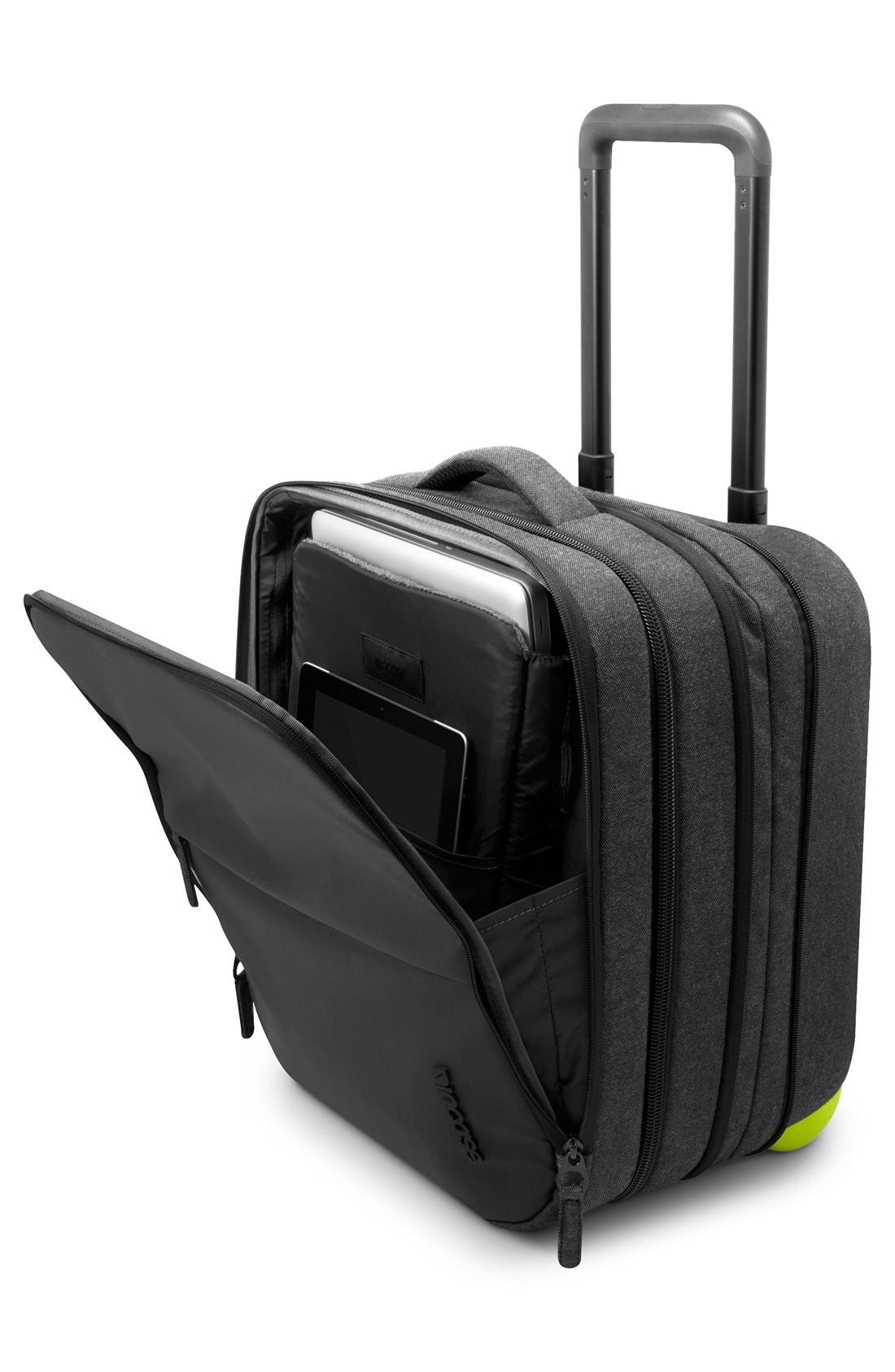 EO Wheeled Briefcase,                             Alternate thumbnail 3, color,                             Black