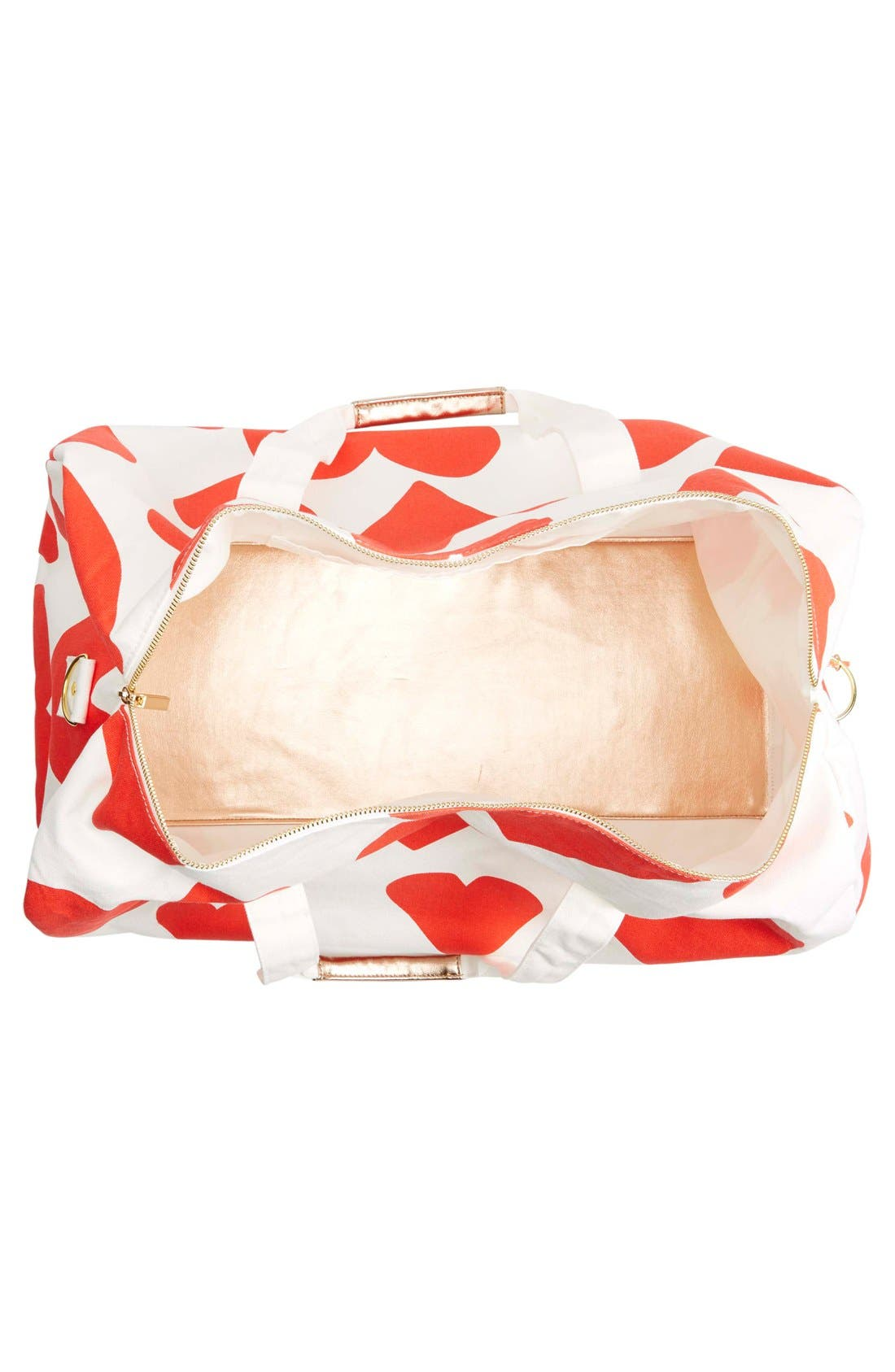 Alternate Image 4  - ban.do 'Extreme Hearts' Canvas Duffel Bag