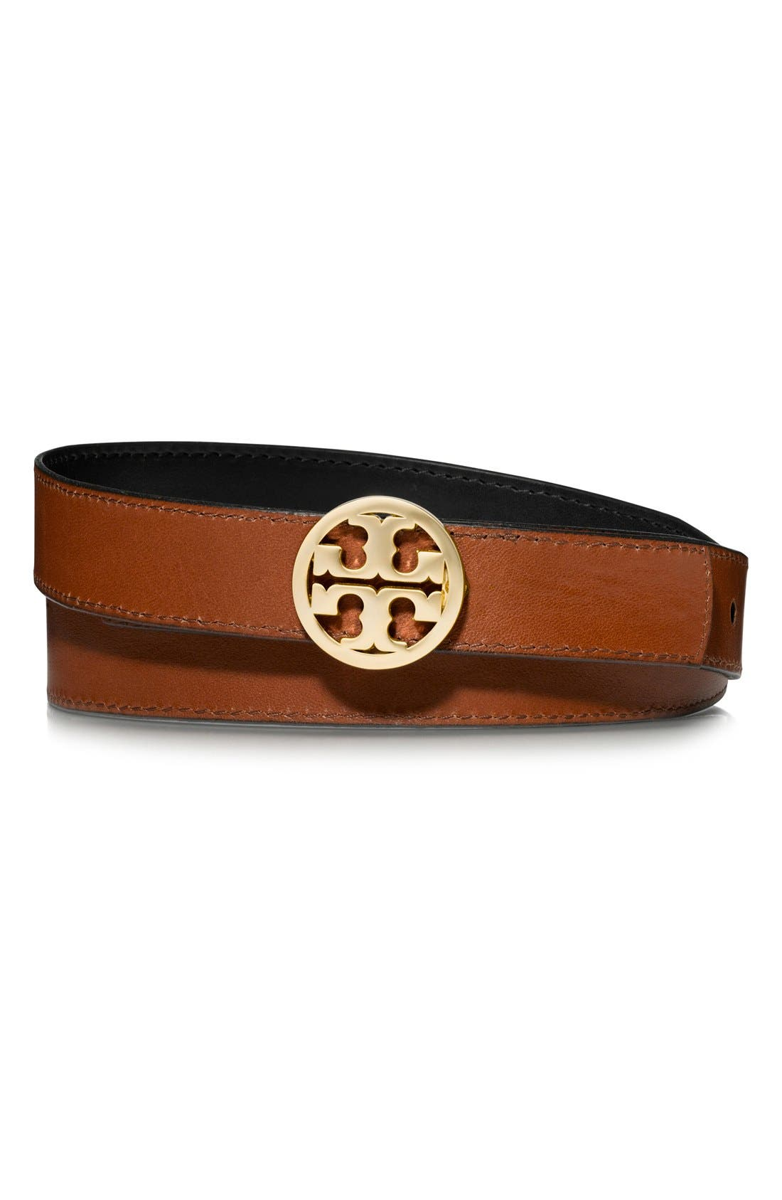Alternate Image 4  - Tory Burch Reversible Leather Belt