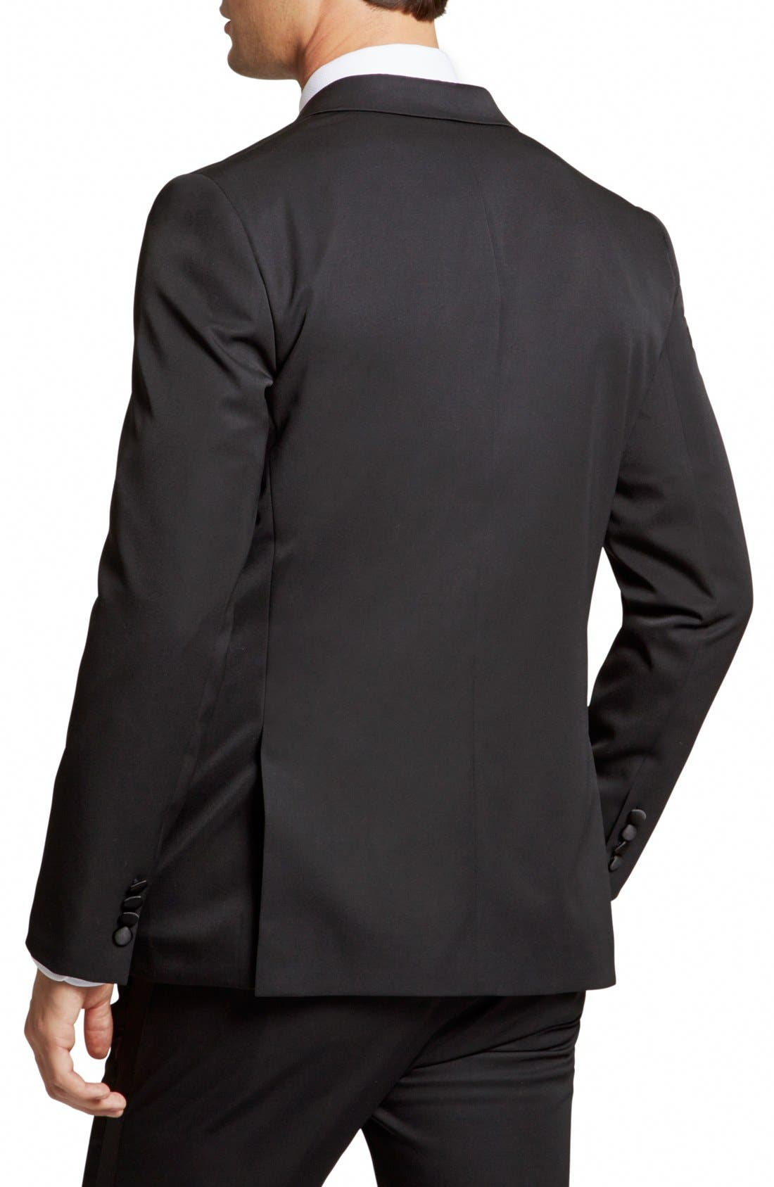 Alternate Image 2  - Bonobos Trim Fit Wool Dinner Jacket