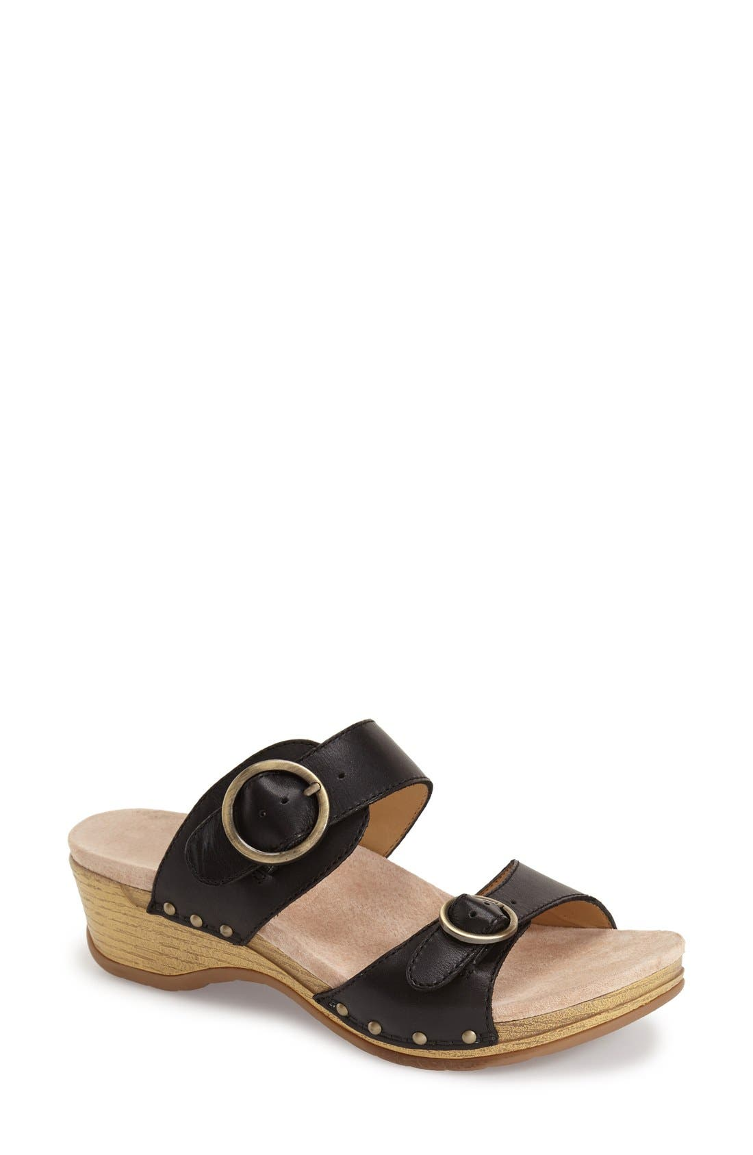 Alternate Image 1 Selected - Dansko 'Manda' Slide Sandal (Women)
