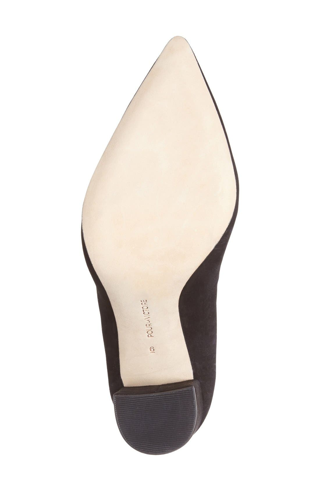 Alternate Image 4  - Pour la Victoire 'Celina' Pointy Toe Pump (Women)