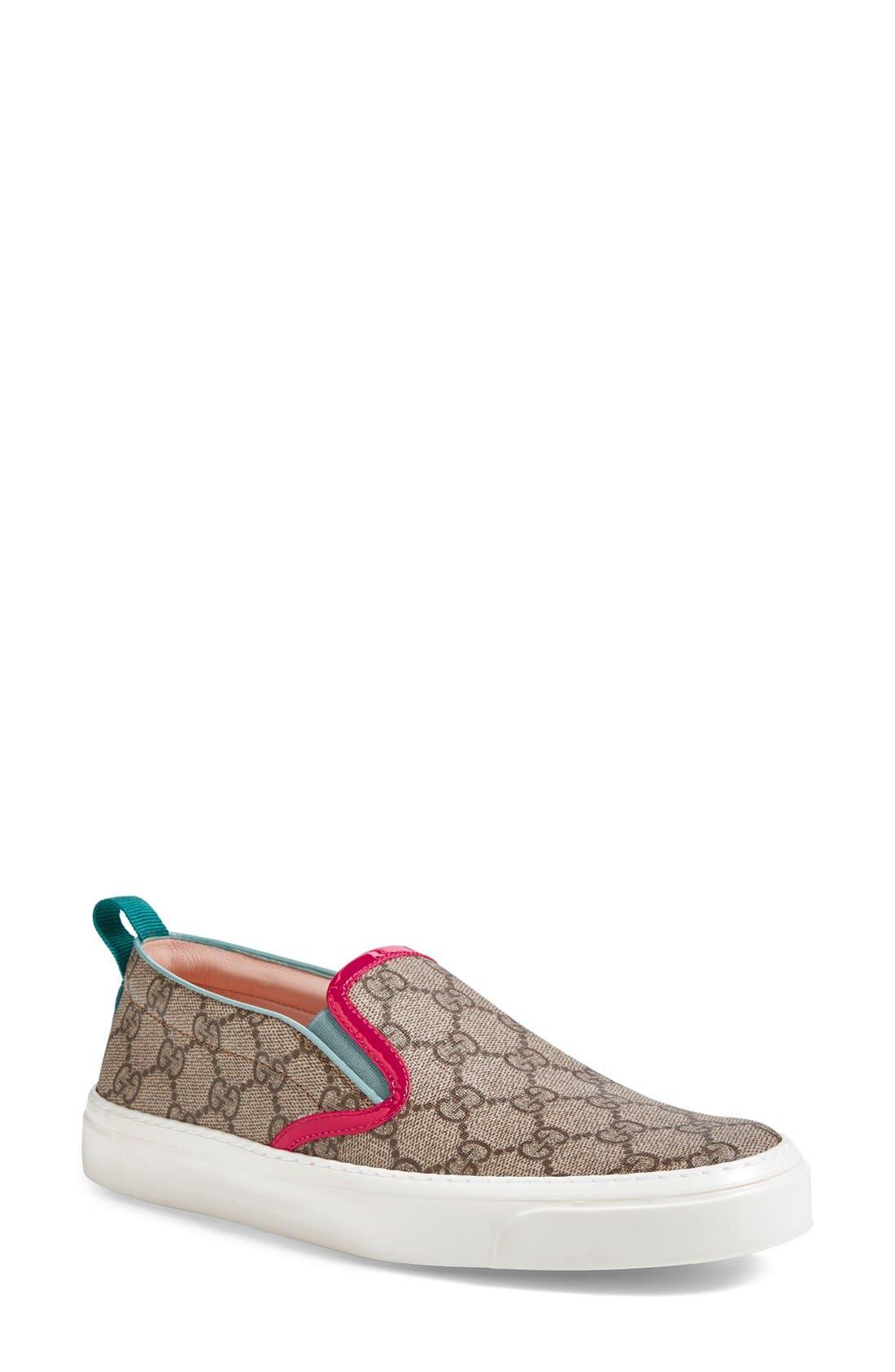Alternate Image 1 Selected - Gucci 'Board' Skate Slip-On (Women)