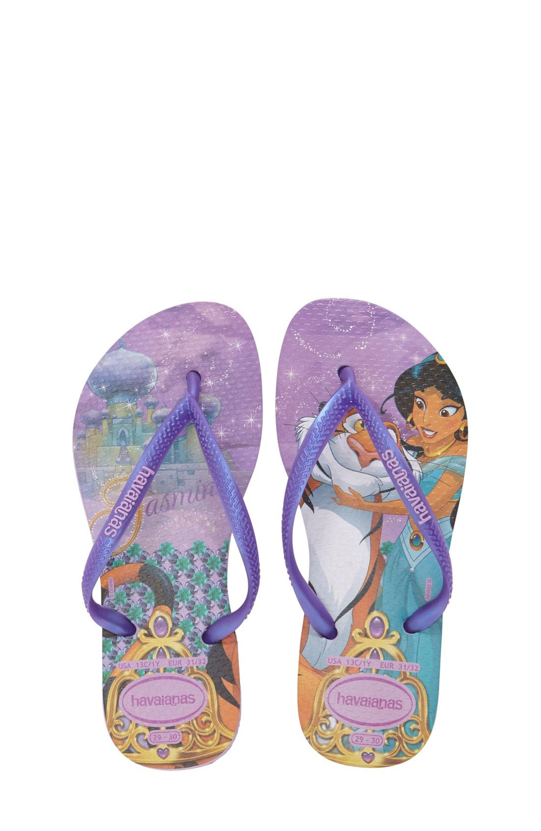 Main Image - Havaianas 'Disney Princess' Flip Flops (Toddler & Little Kid)
