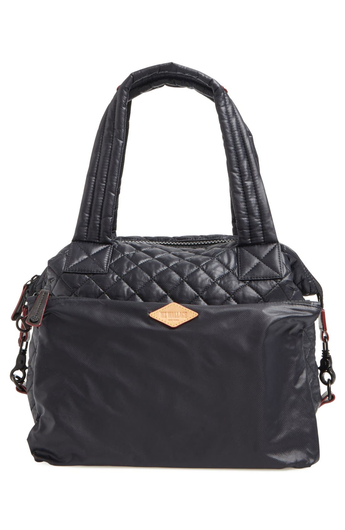 Alternate Image 4  - MZ Wallace 'Medium Sutton' Quilted Oxford Nylon Shoulder Tote