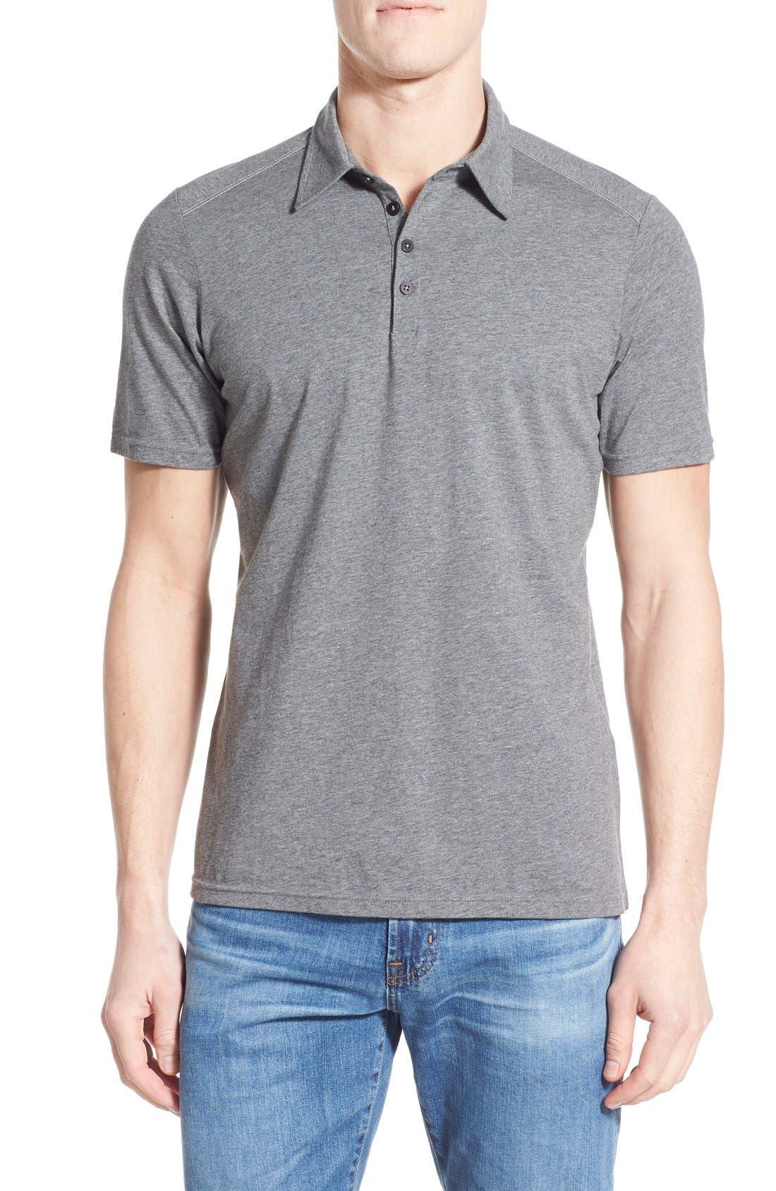 Nau Genus Stripe Jersey Pocket Polo