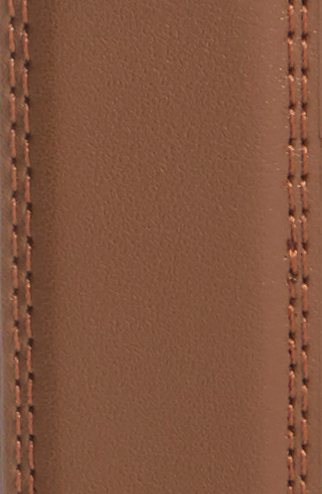 Alternate Image 2  - Mission Belt 'Cocoa' Leather Belt