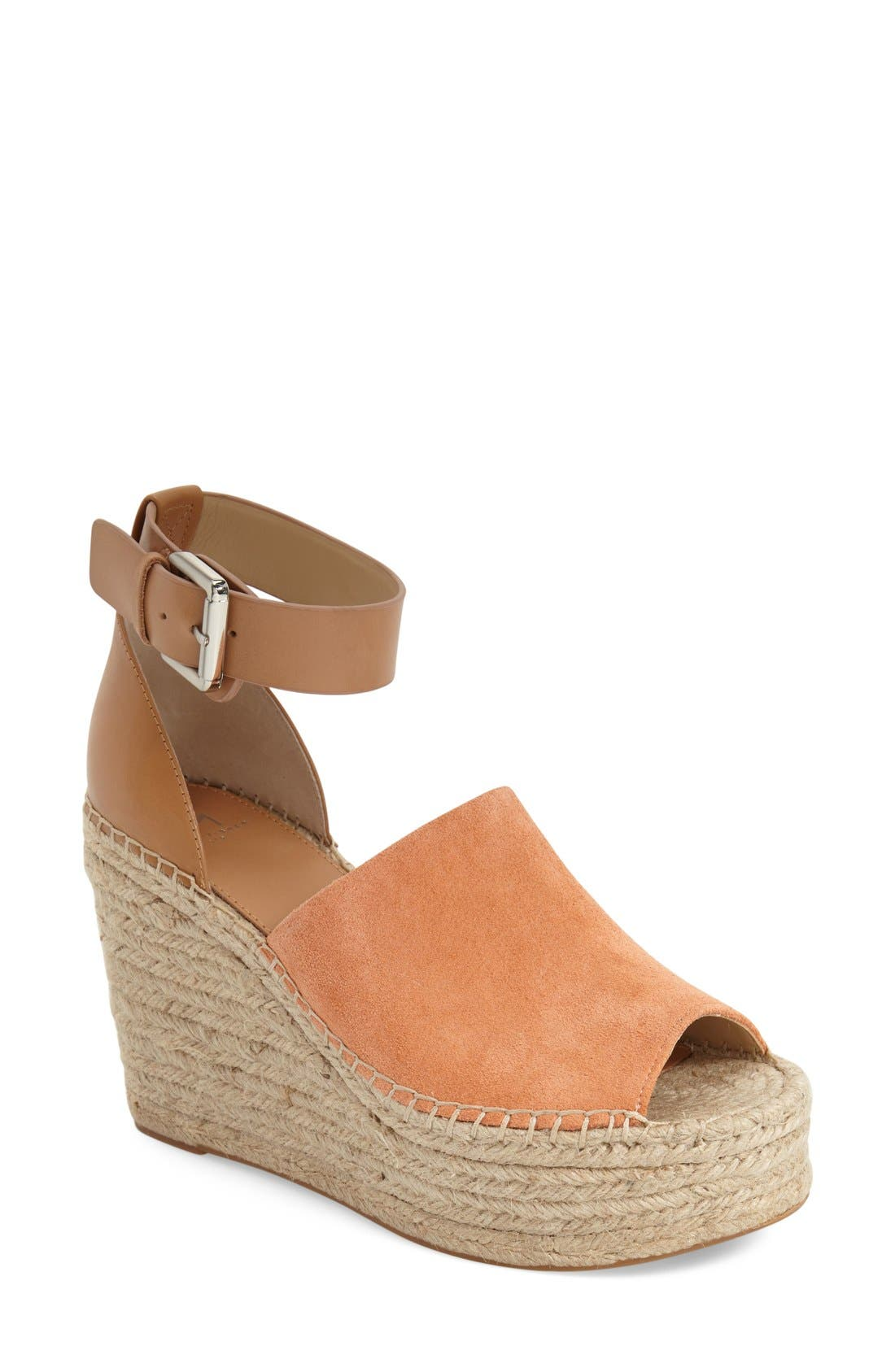 Main Image - Marc Fisher LTD 'Adalyn' Espadrille Wedge Sandal (Women)
