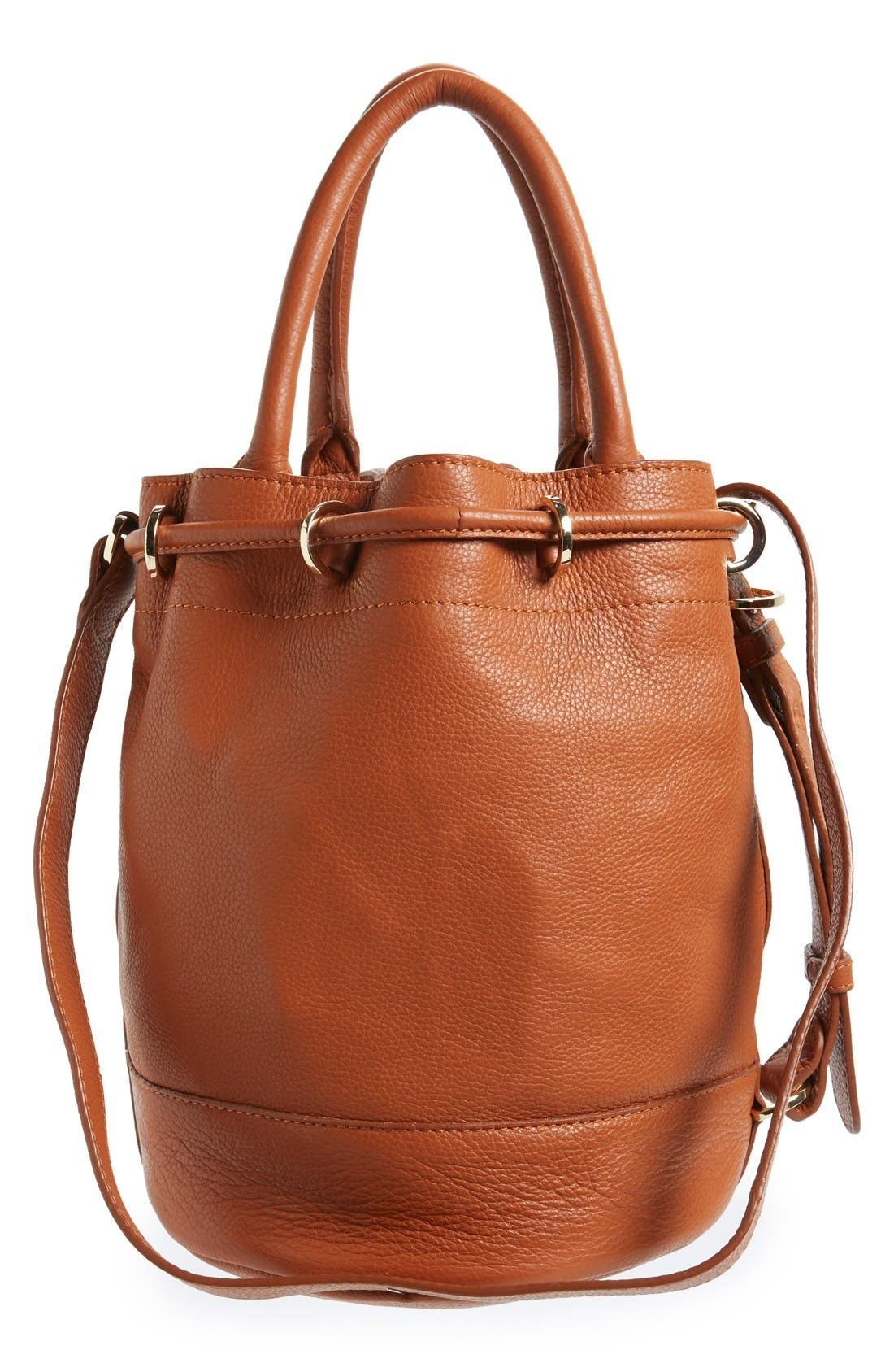 Alternate Image 3  - See by Chloé 'Vicki' Small Leather Bucket Bag