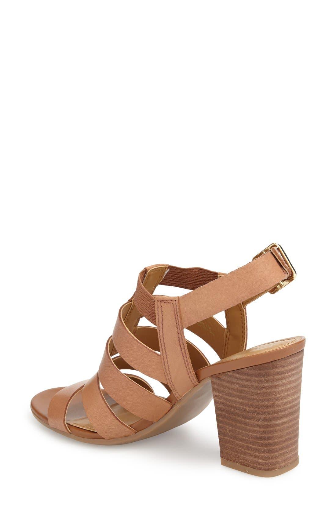 Alternate Image 2  - Franco Sarto 'Montage' Leather Sandal (Women)