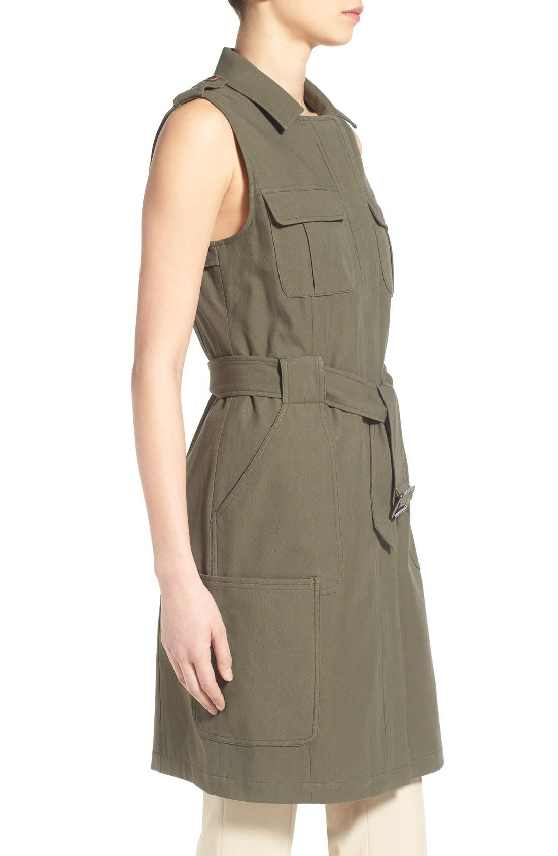 Alternate Image 4  - Olivia Palermo + Chelsea28 Long Military Vest