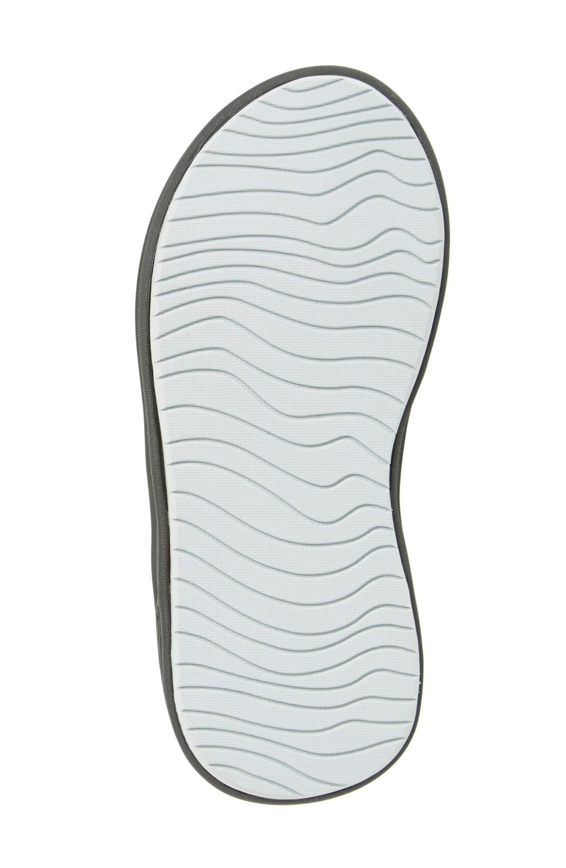 'Grom Rover' Water Friendly Sandal,                             Alternate thumbnail 4, color,                             Black