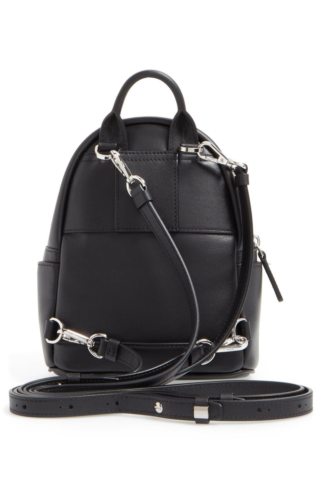 Alternate Image 3  - MCM 'X Mini Diamond Disco' Leather Backpack