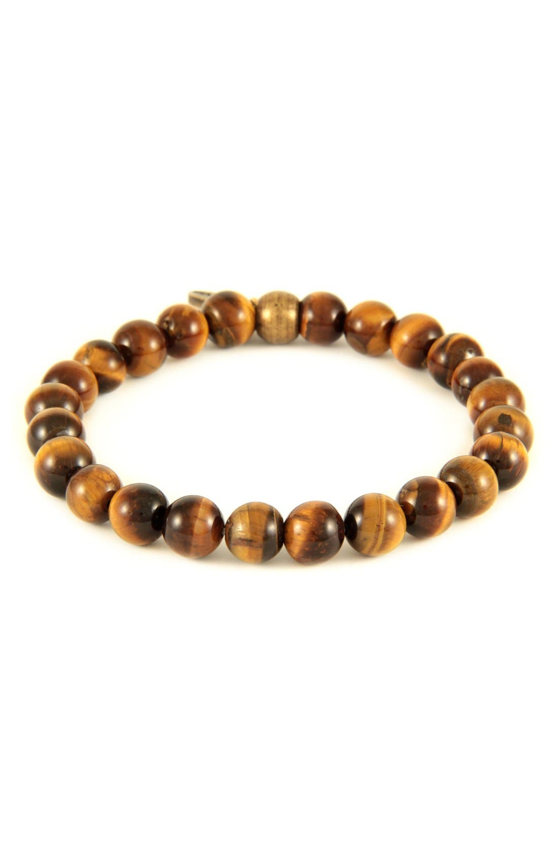 Mr. Ettika Tiger's Eye Stretch Bracelet