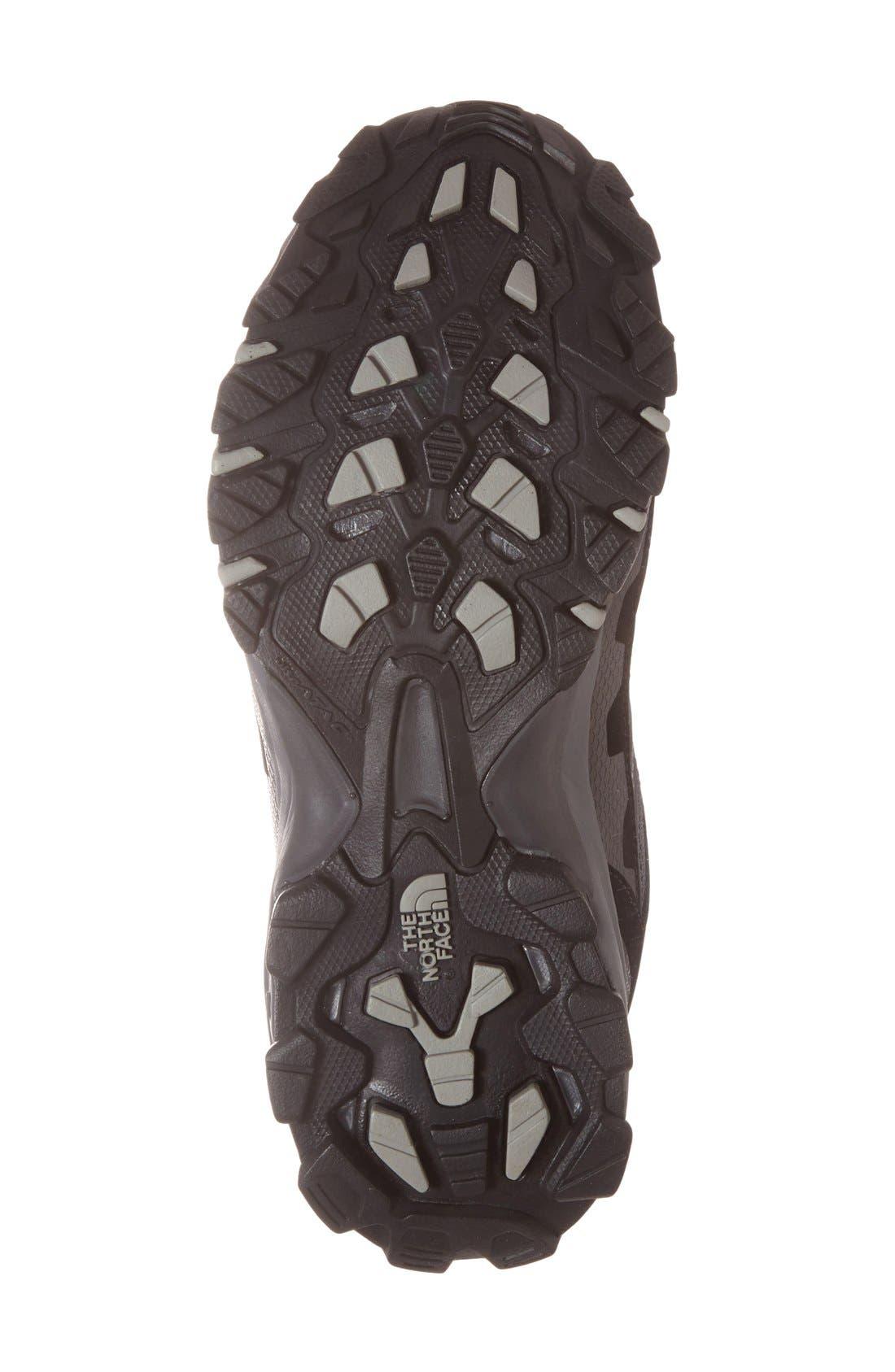 'Ultra 109 GTX' Waterproof Running Shoe,                             Alternate thumbnail 4, color,                             Black/ Dark Shadow Grey