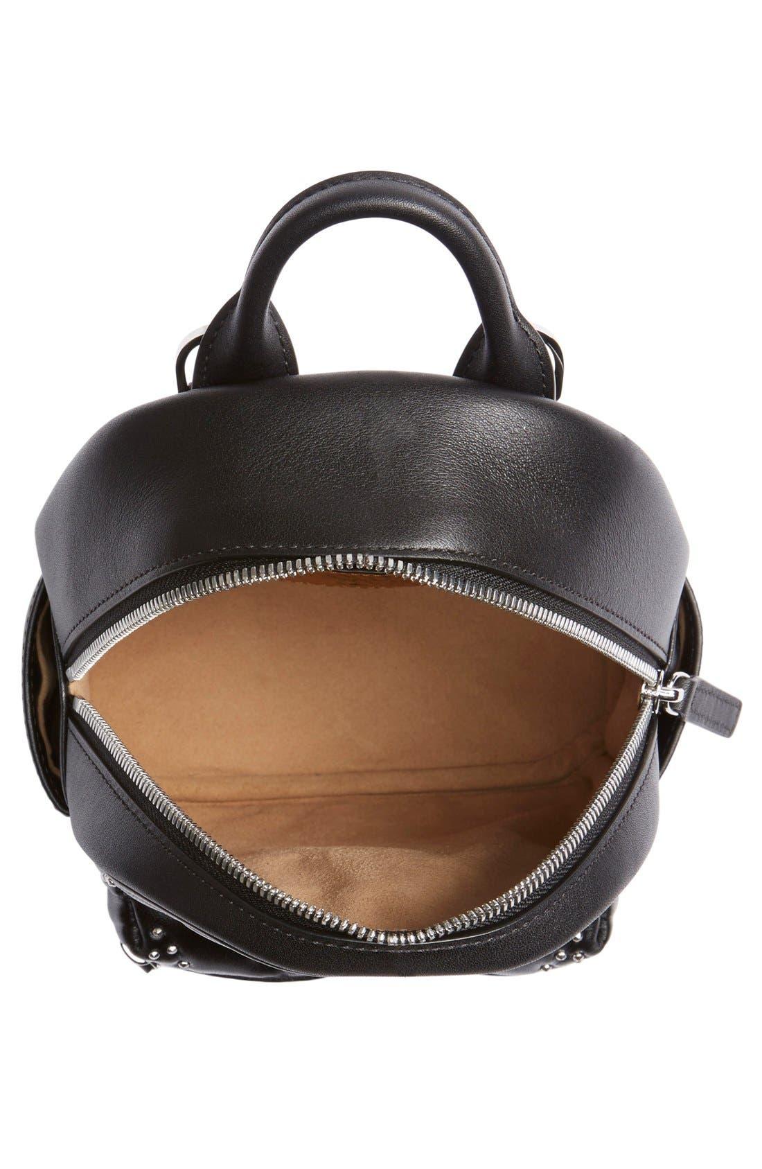 Alternate Image 4  - MCM 'X Mini Diamond Disco' Leather Backpack