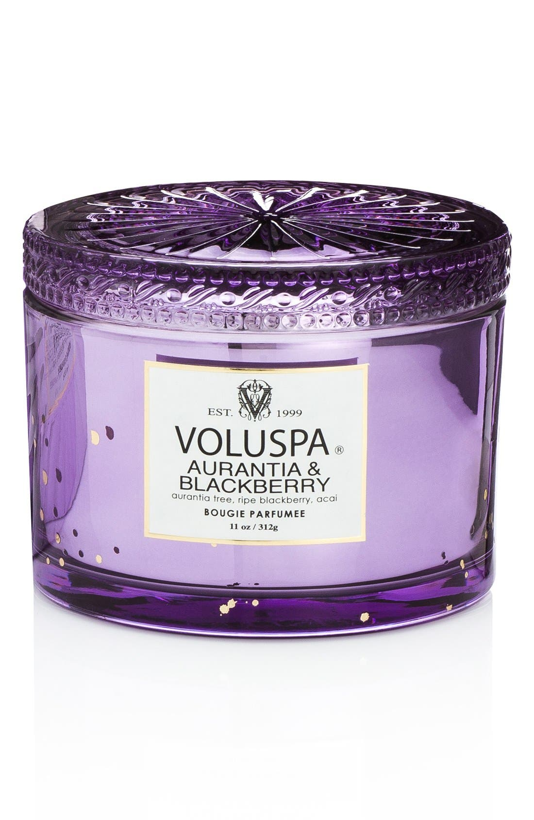 Maison Blanc - Aurantia & Blackberry Boxed Lidded Candle,                             Alternate thumbnail 2, color,                             No Color