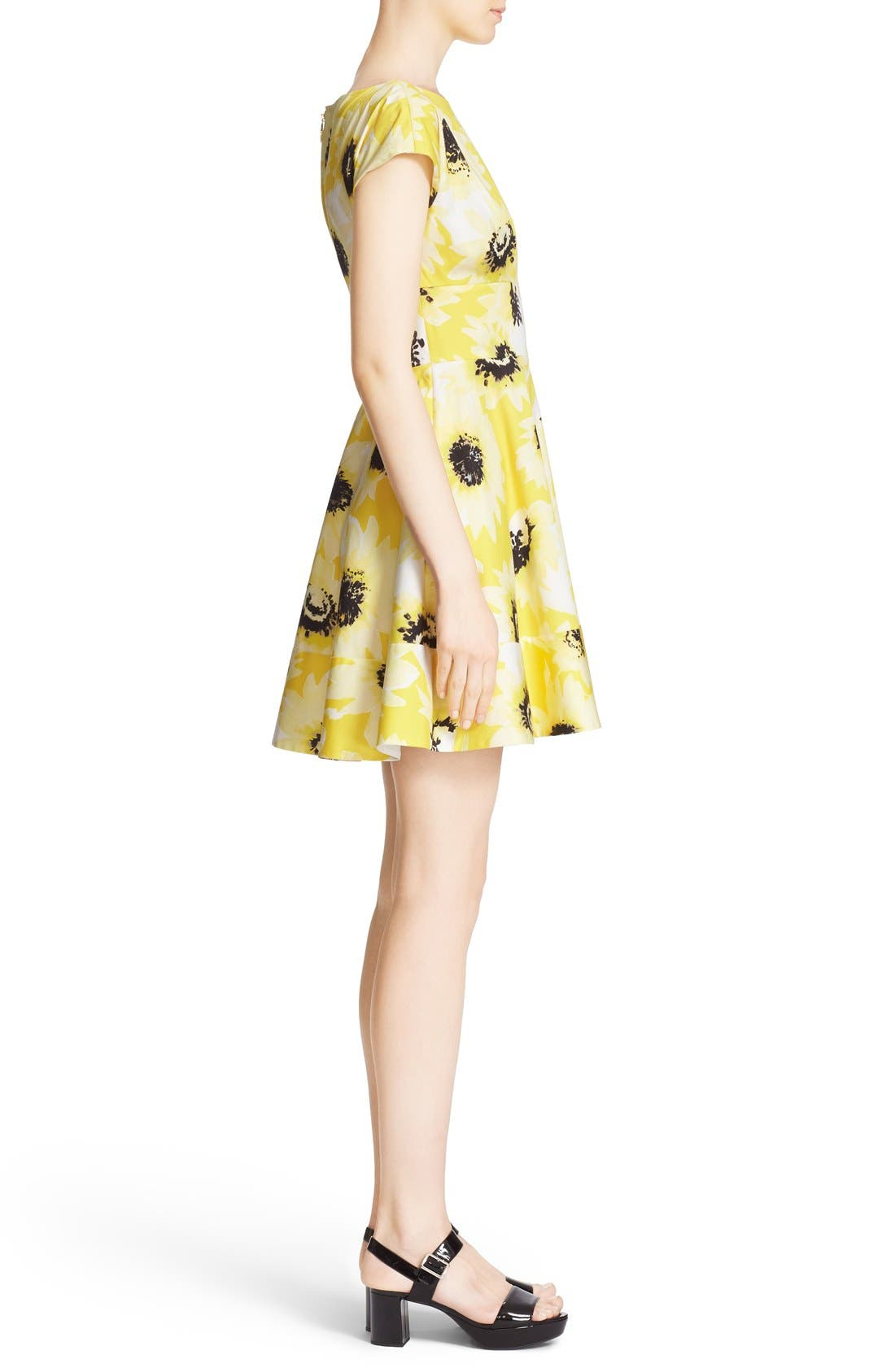 Alternate Image 4  - kate spade new york 'fiorella' floral print dress