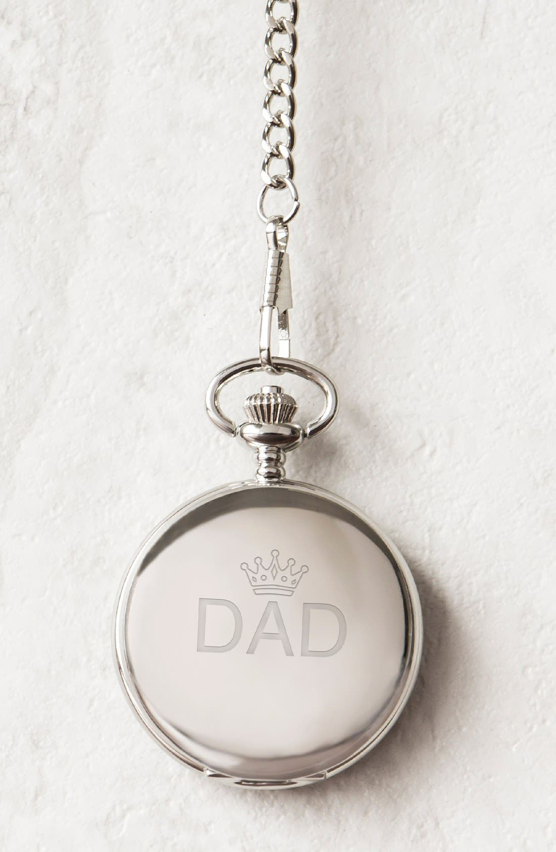 Cathy's Concepts 'Dad' Pocket Watch, 44mm