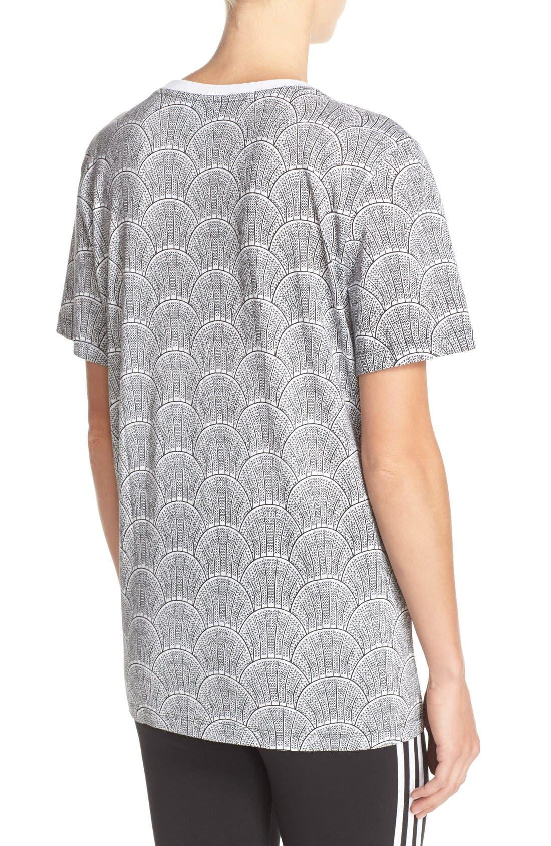 Alternate Image 2  - adidas Originals 'Shell Tile' Boyfriend Tee