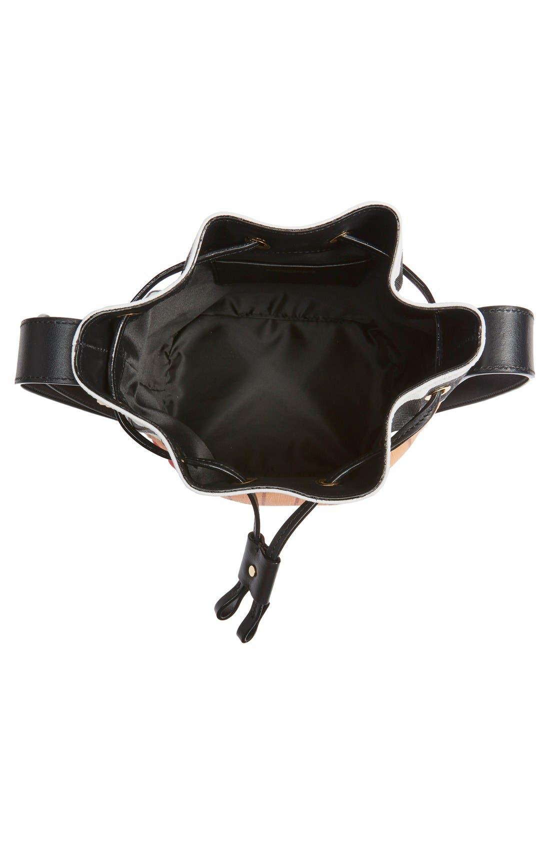 'It's Lit Matchbook' Bucket Bag,                             Alternate thumbnail 4, color,                             Multicolor