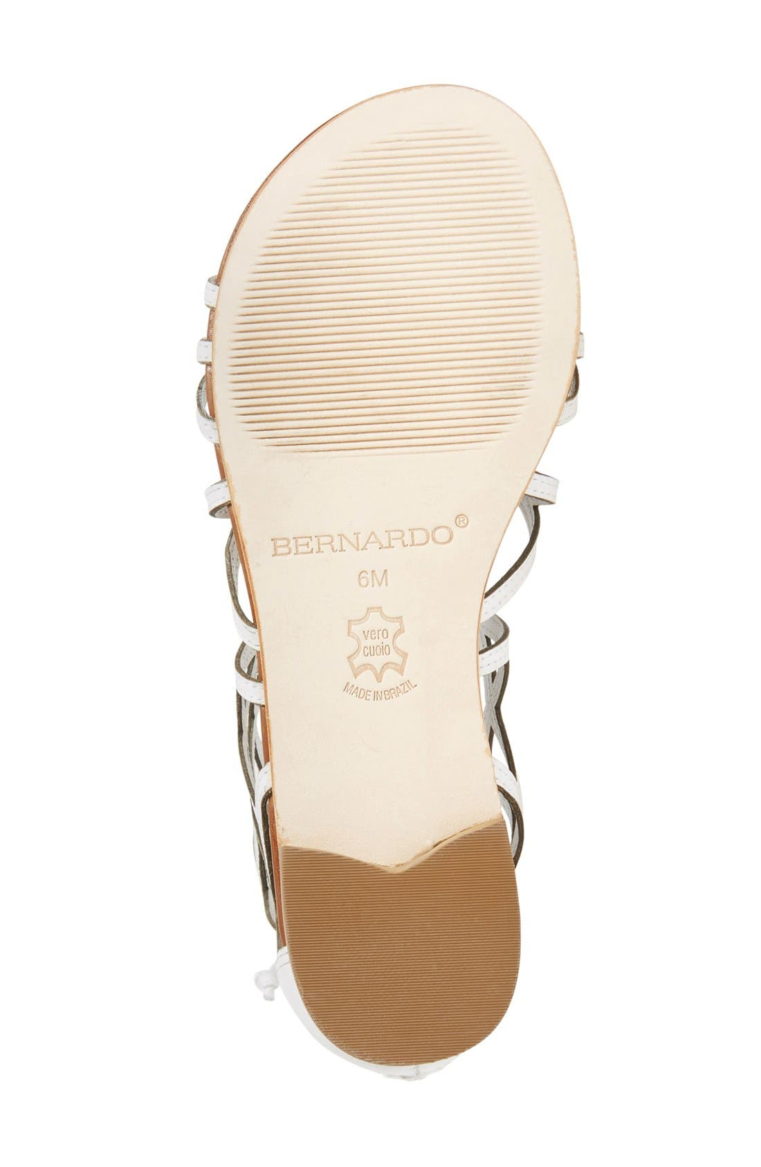 Alternate Image 4  - Bernardo Willow Gladiator Sandal (Women)