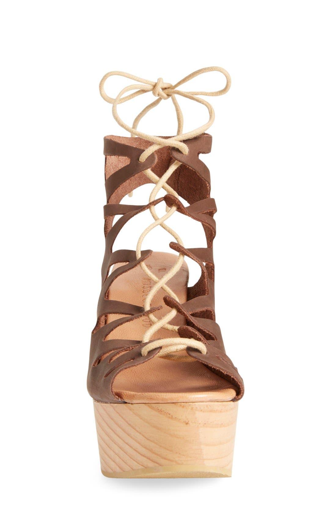Alternate Image 3  - Musse & Cloud 'Oneka' Lace-Up Sandal (Women)