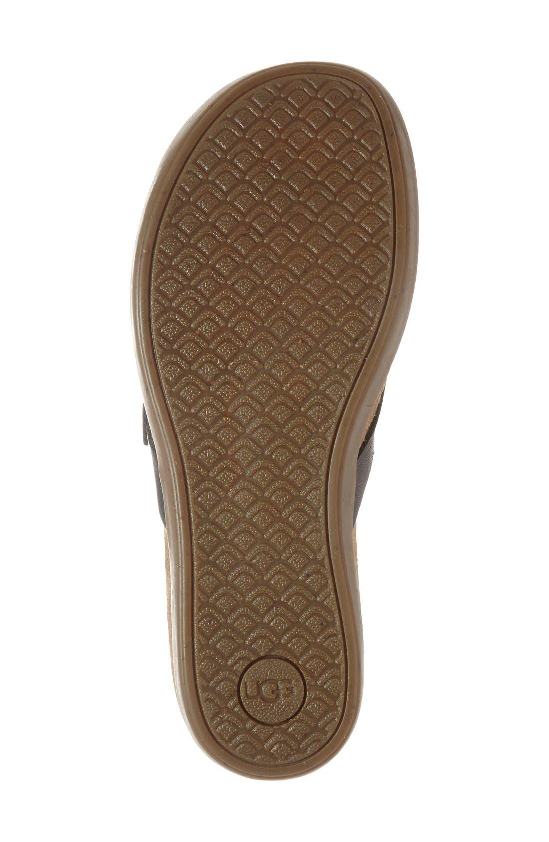 Alternate Image 4  - UGG® 'Sela' Flip Flop (Women)
