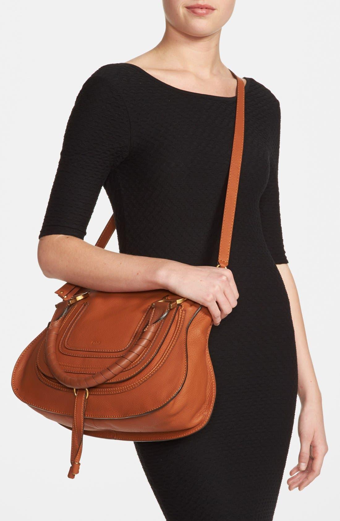 Alternate Image 5  - Chloé 'Medium Marcie' Leather Satchel