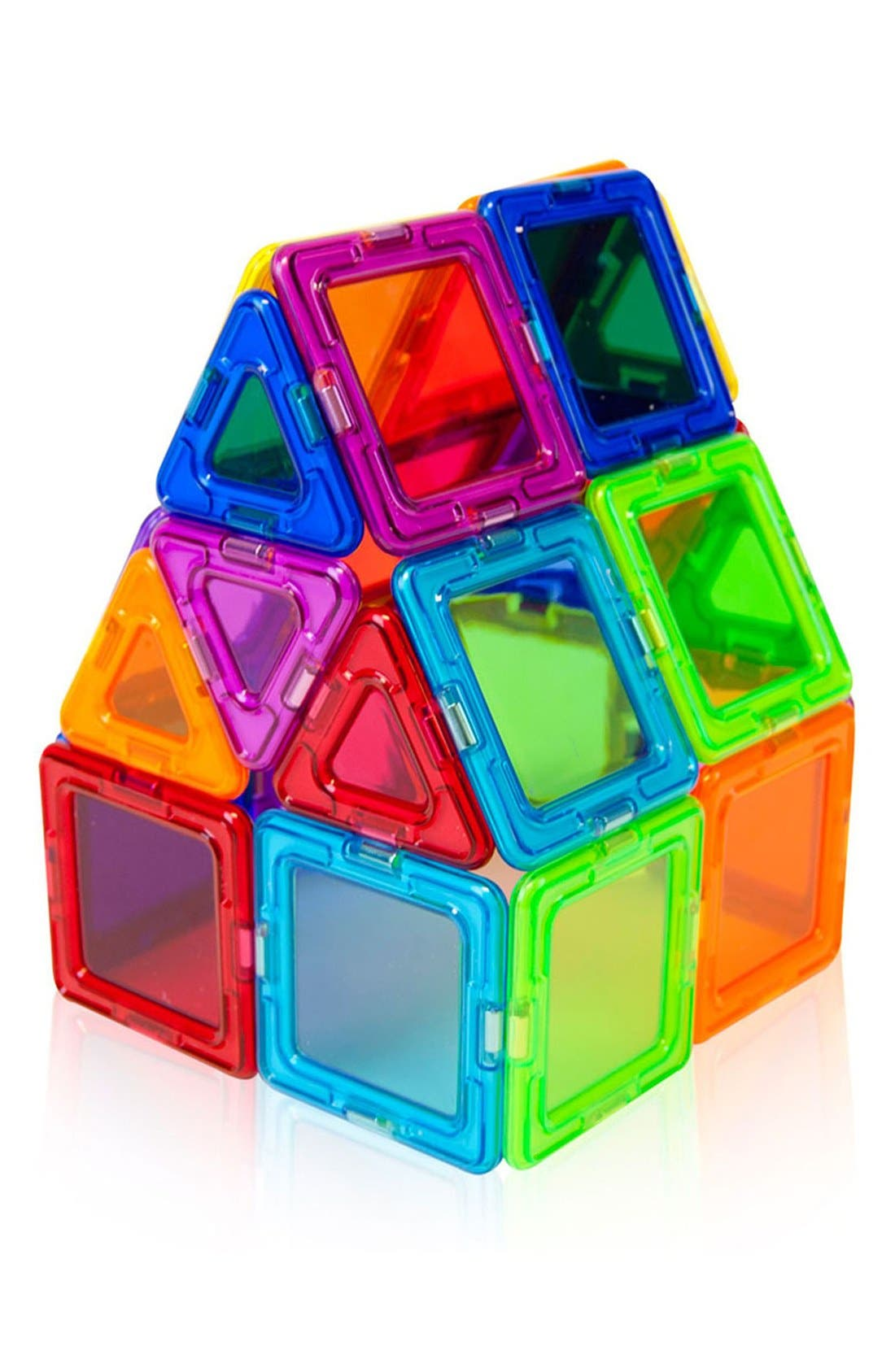 Alternate Image 4  - Magformers 'Standard - Solids' Clear Magnetic 3D Construction Set