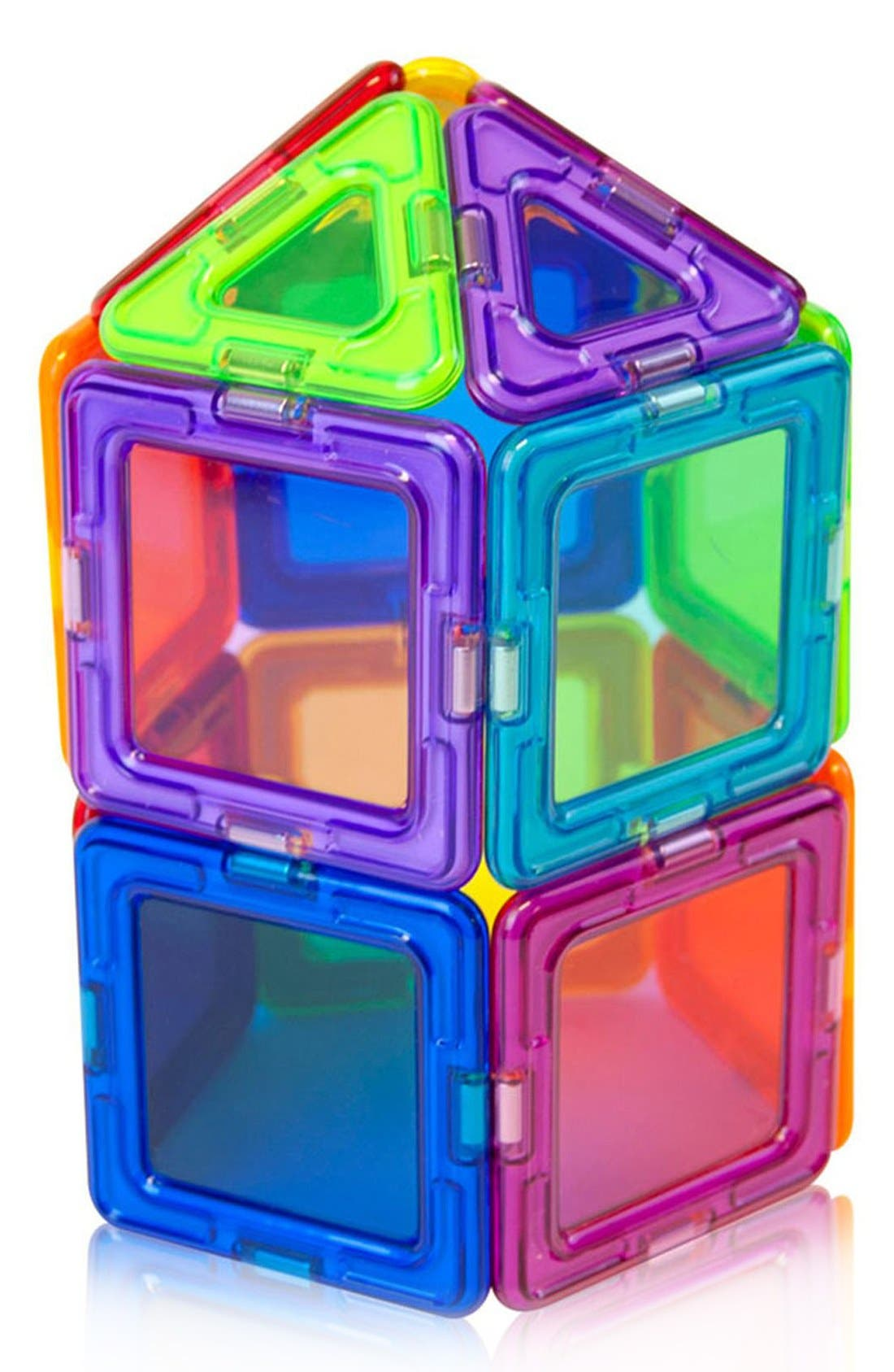 Alternate Image 5  - Magformers 'Standard - Solids' Clear Magnetic 3D Construction Set