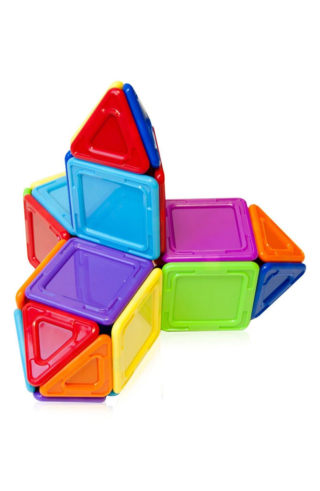 'Standard - Solids' Opaque Magnetic 3D Construction Set,                             Alternate thumbnail 3, color,                             Opaque Rainbow