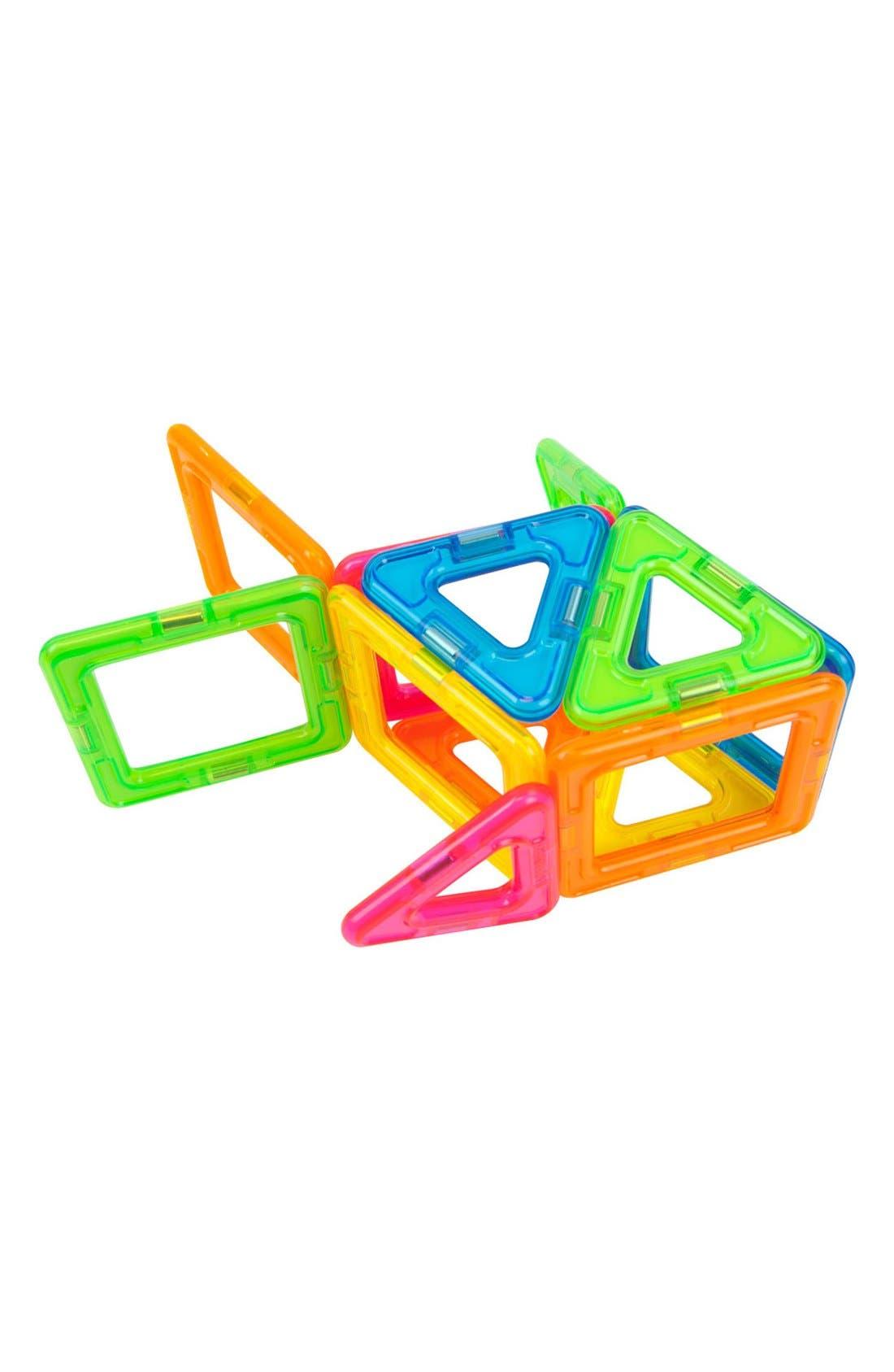'Creator' Neon Magnetic 3D Construction Set,                             Alternate thumbnail 7, color,                             Neon Rainbow