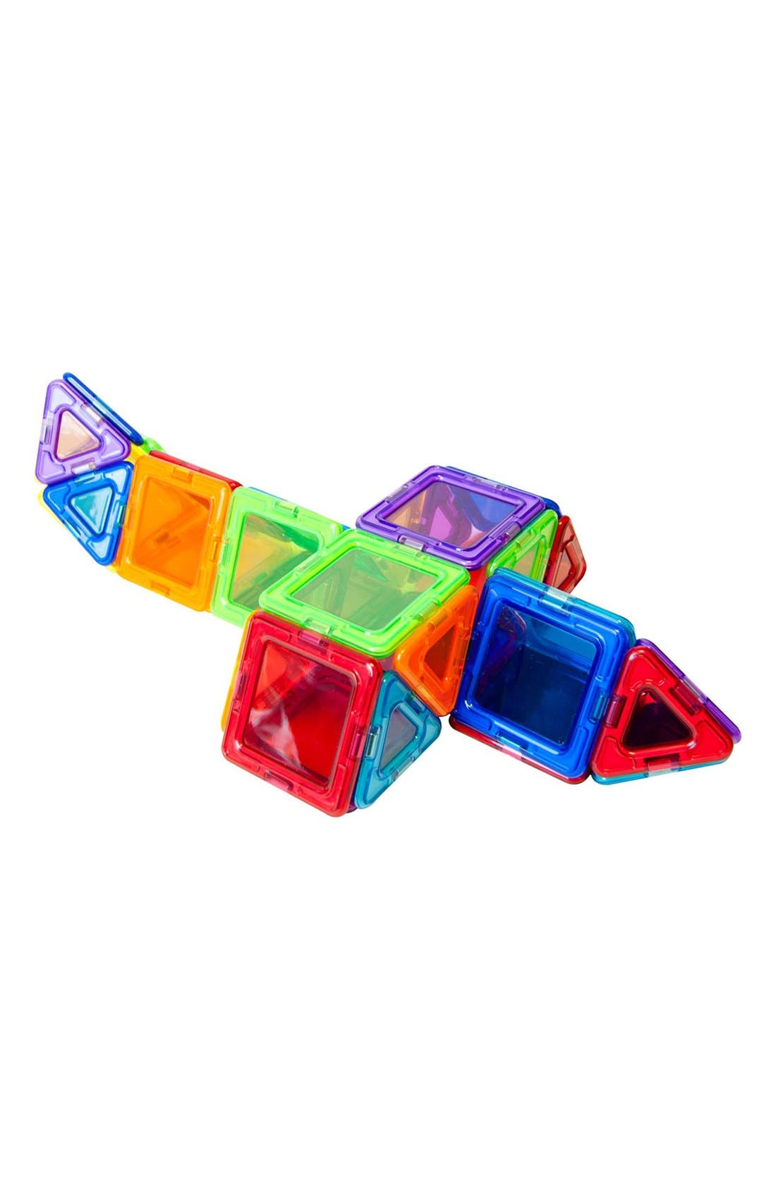'Standard - Solids' Clear Magnetic 3D Construction Set,                             Alternate thumbnail 6, color,                             Rainbow