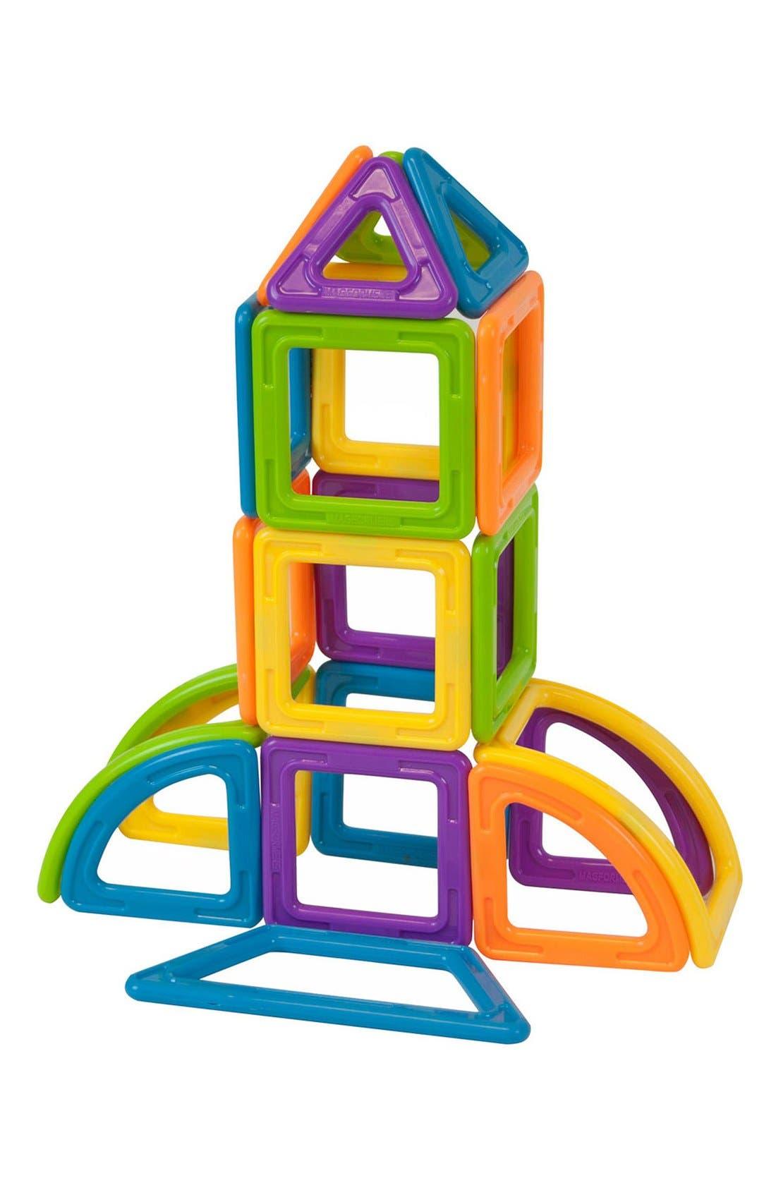 'Vehicle - WOW' Magnetic 3D Construction Set,                             Alternate thumbnail 6, color,                             Opaque Rainbow