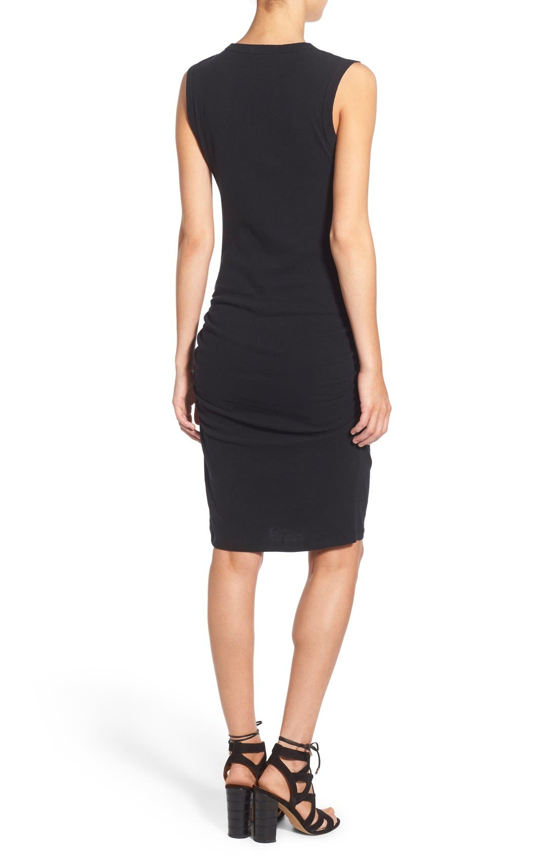 Alternate Image 2  - James Perse Ruched Tank Dress