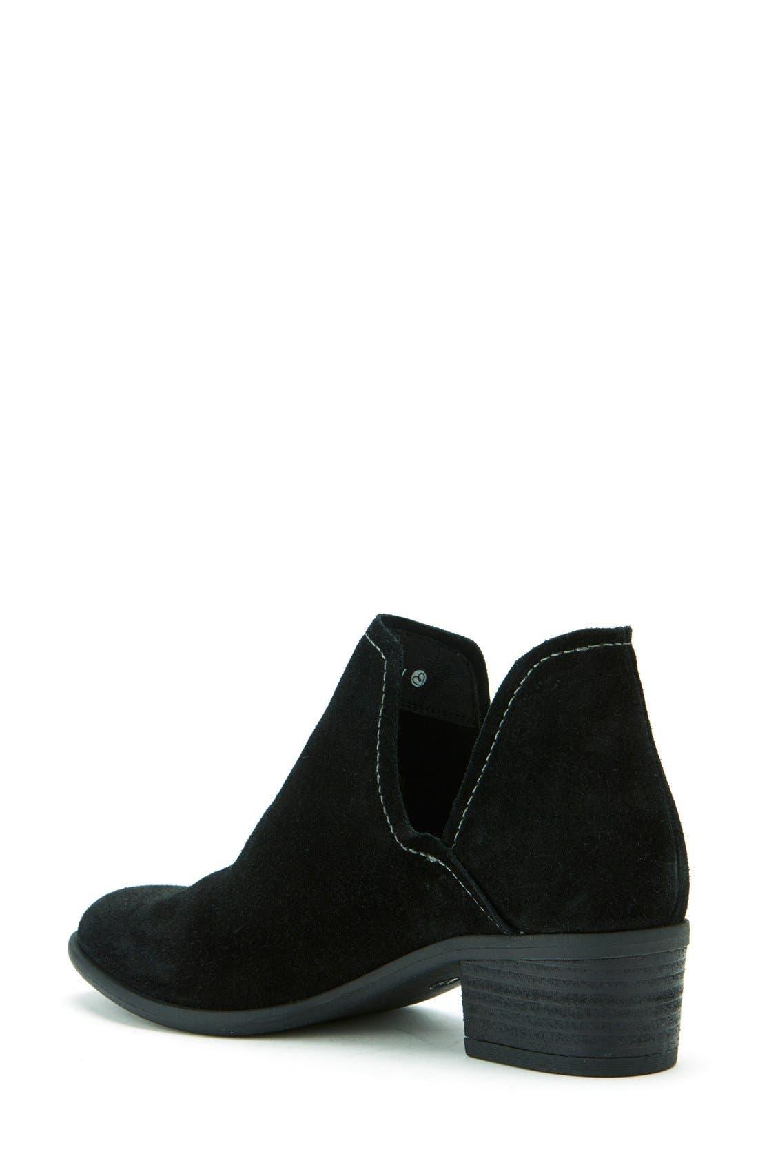 'Marcella' Waterproof  Boot,                             Alternate thumbnail 2, color,                             Black Suede