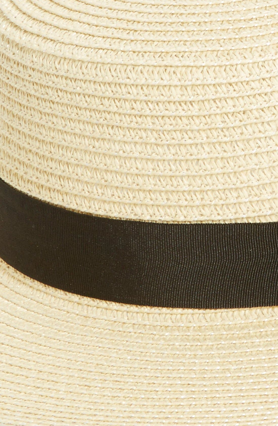 Alternate Image 2  - BP. Straw Boater Hat