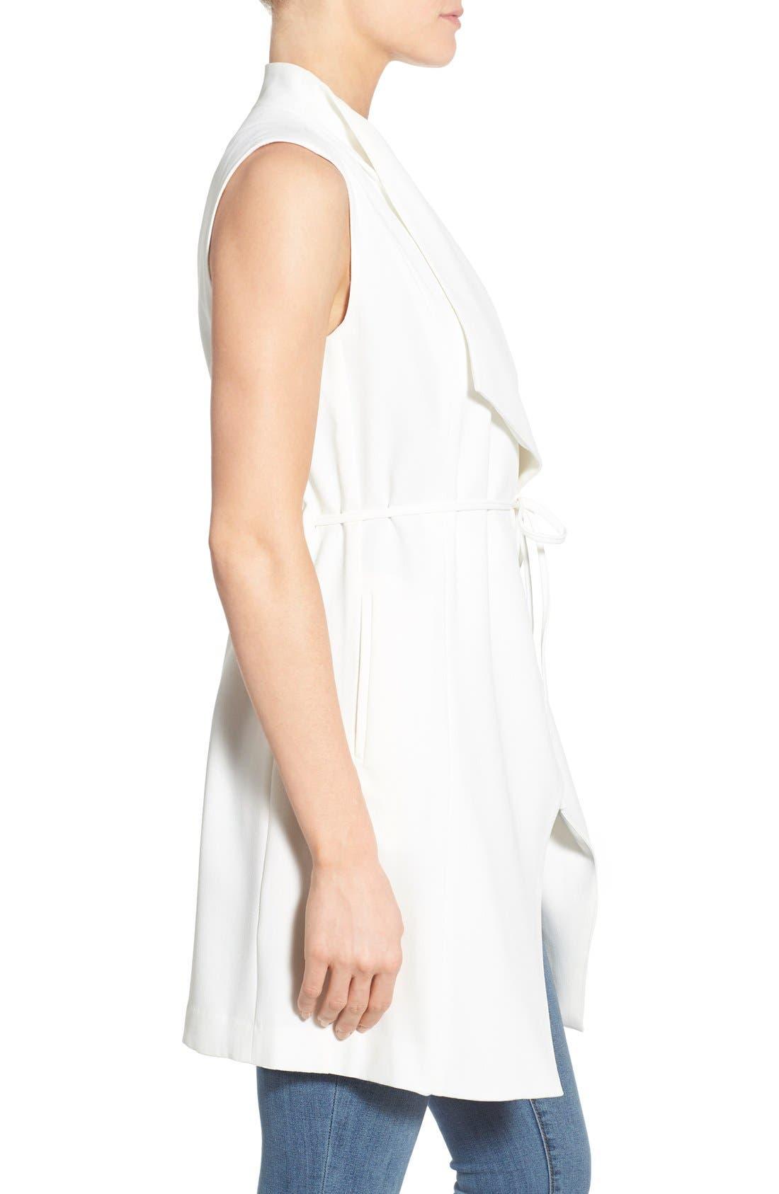 Alternate Image 3  - Catherine Catherine Malandrino 'Quindon' Longline Vest