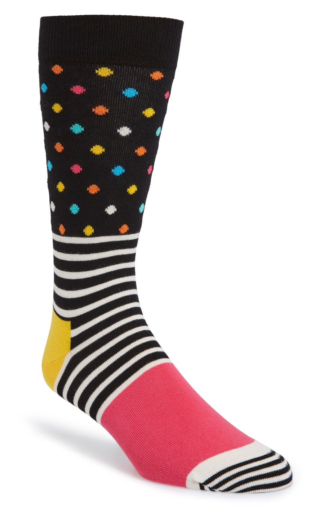 Main Image - Happy Socks Stripe & Dot Socks (3 for $30)