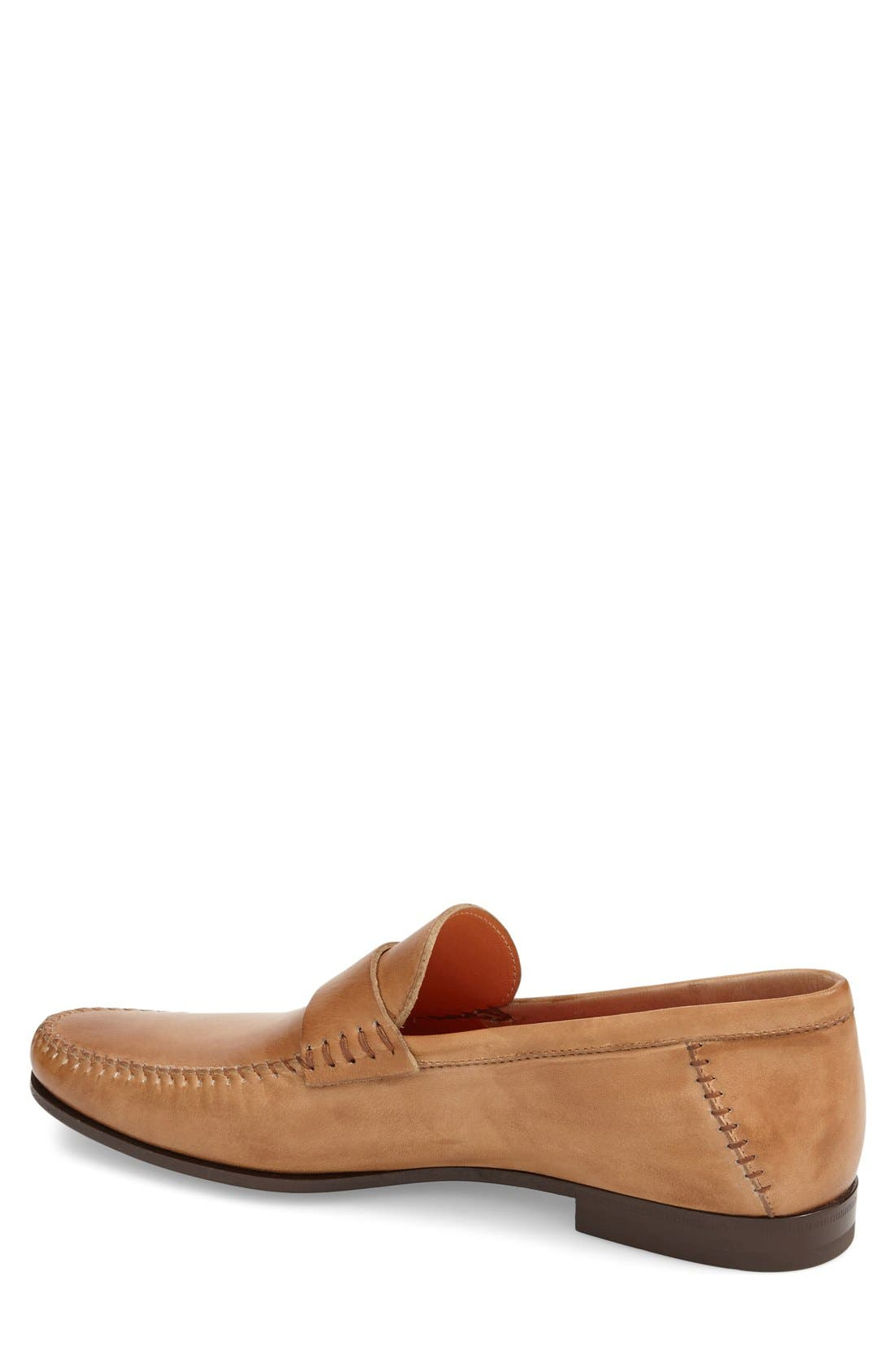 'Paine' Leather Loafer,                             Alternate thumbnail 2, color,                             Tan