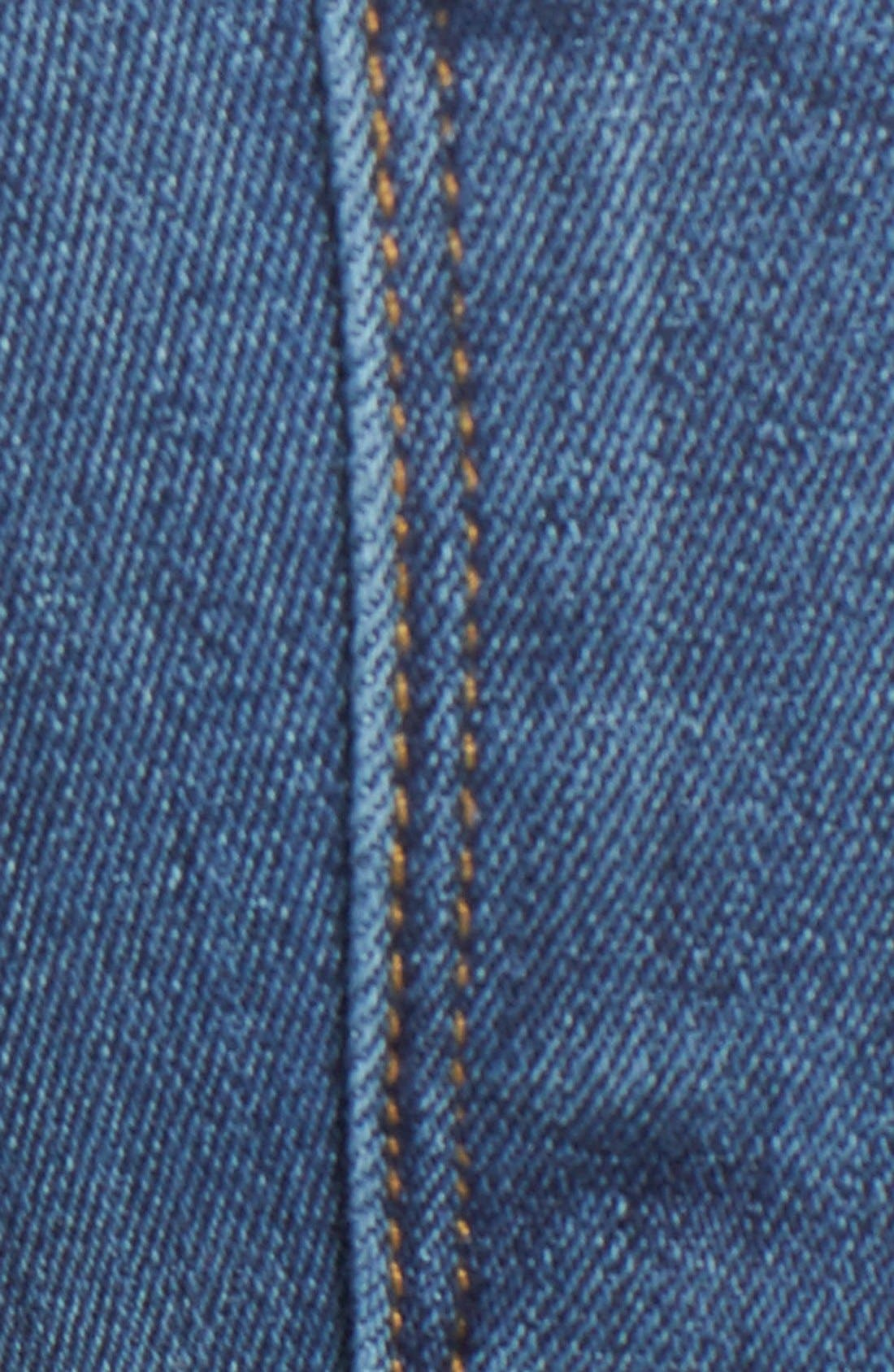'Croxley' Cuffed Denim Shorts,                             Alternate thumbnail 5, color,                             Advantageous