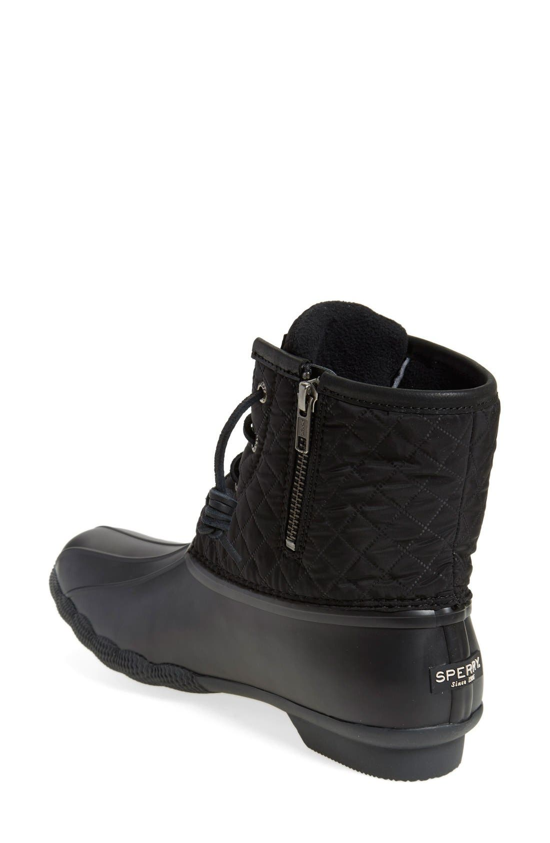 Alternate Image 2  - Sperry 'Saltwater - Quilted' Duck Boot (Women)