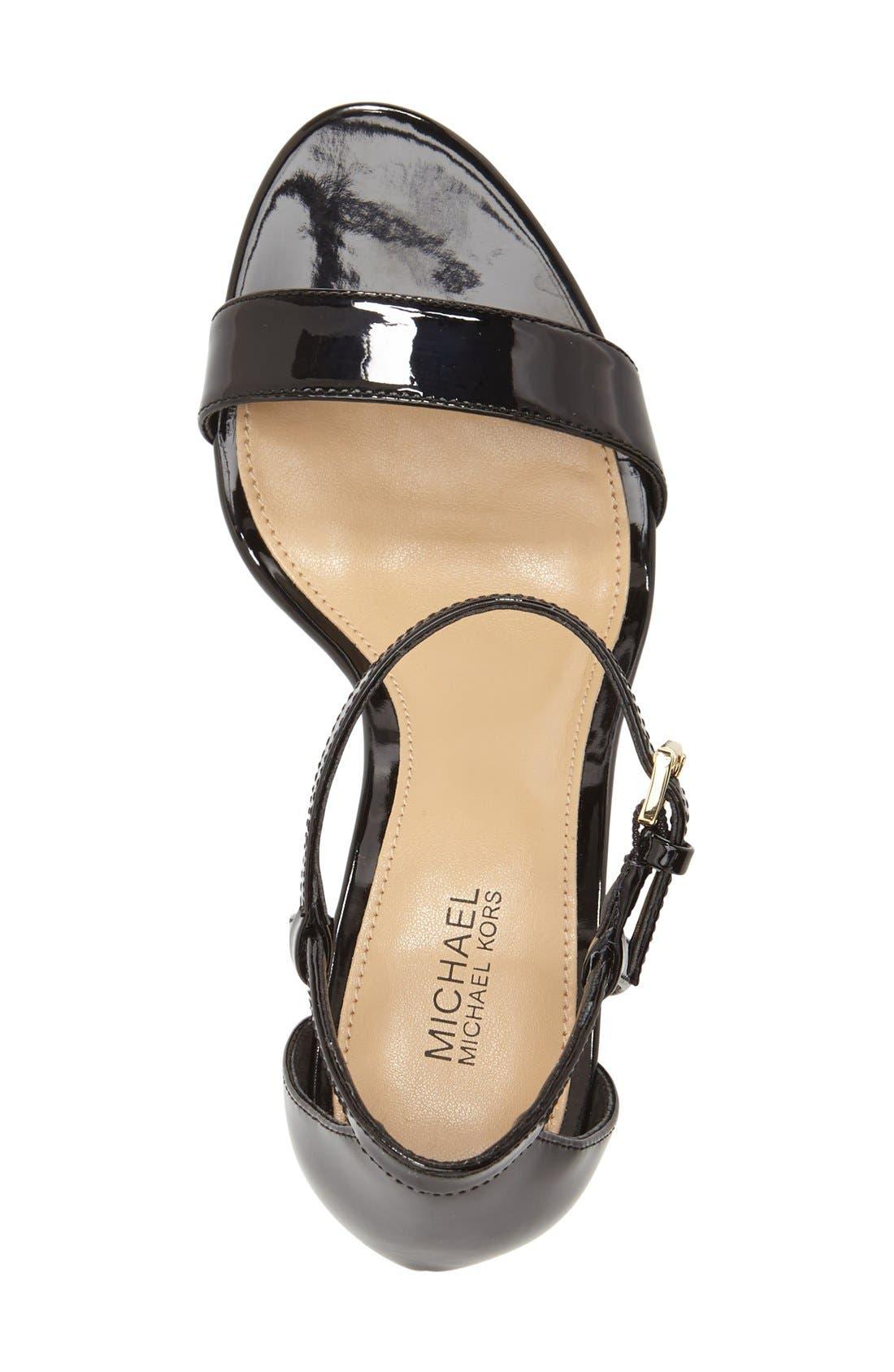 Alternate Image 3  - MICHAEL Michael Kors 'Simone' Sandal (Women)