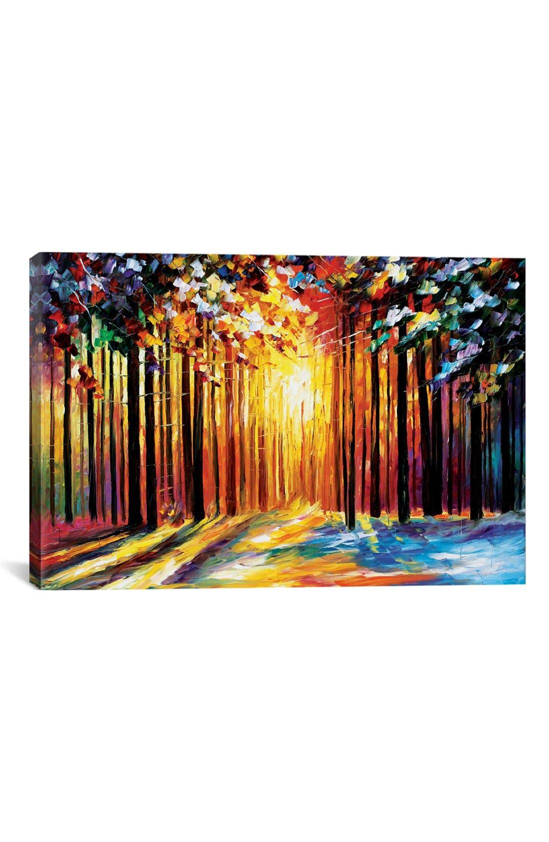 iCanvas 'Sun of January' Giclée Print Canvas Art