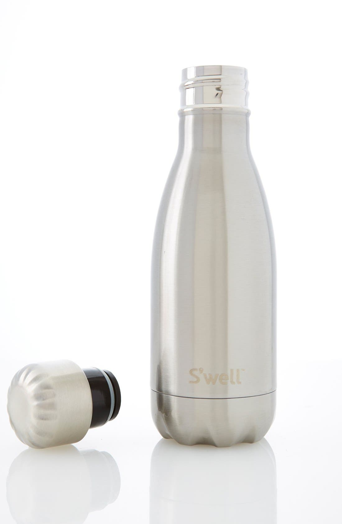 S'well Silver Lining stainless steel water bottle
