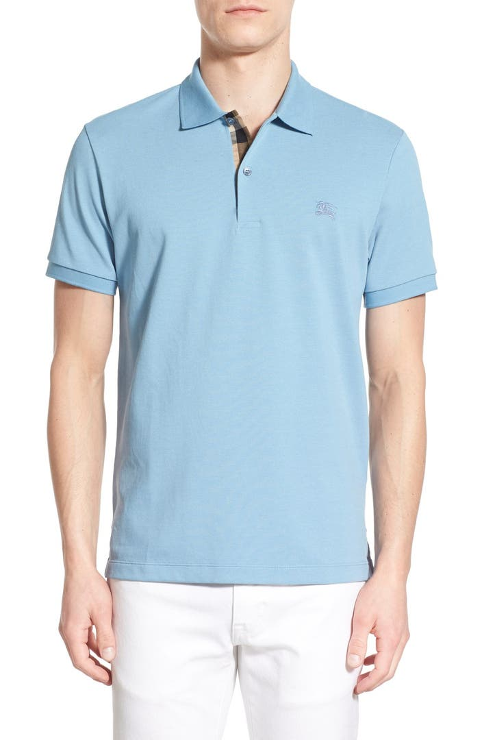 Burberry piqu polo nordstrom for Different types of polo shirts