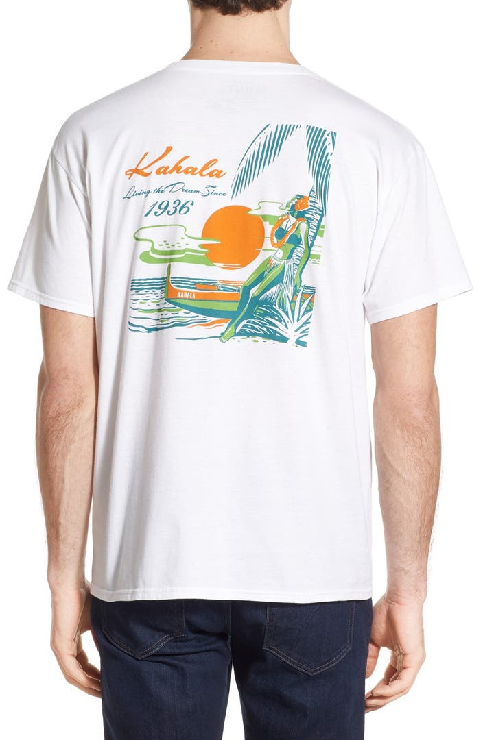 Kahala 39 hawaii 39 graphic t shirt nordstrom for Hawaiian graphic t shirts